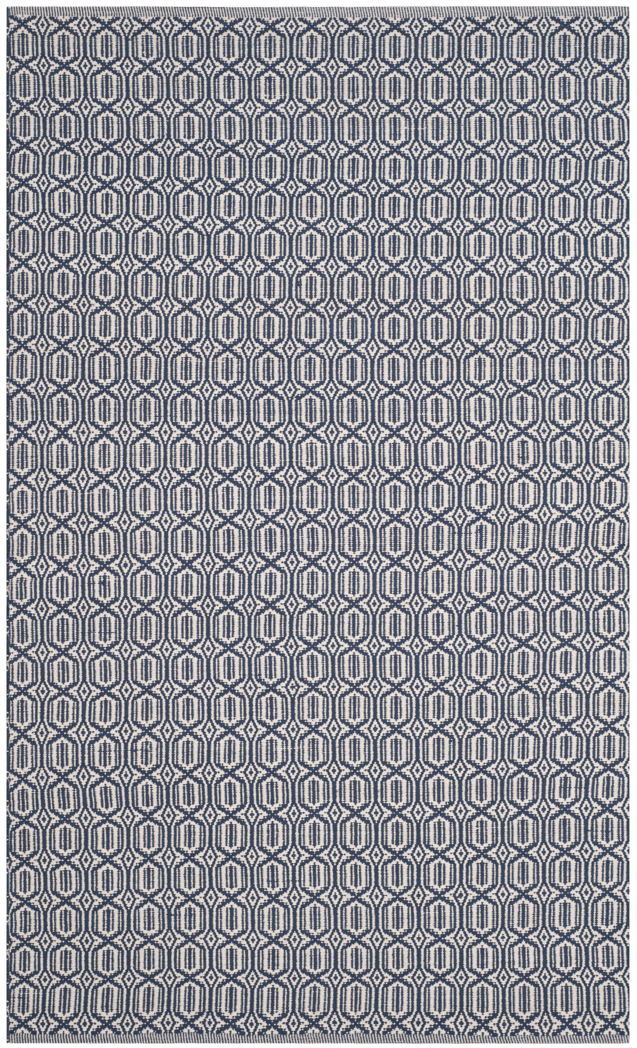 Parthena Hand-Woven Gray Area Rug Rug Size: Rectangle 6' x 9'