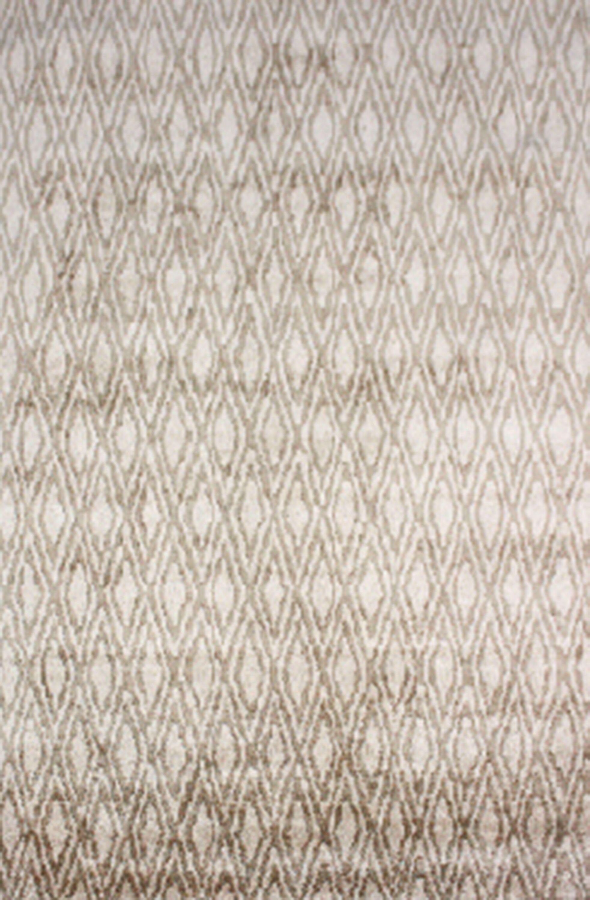 Brashear Hand-Woven Ivory Area Rug Rug Size: Rectangle 12' x 15'