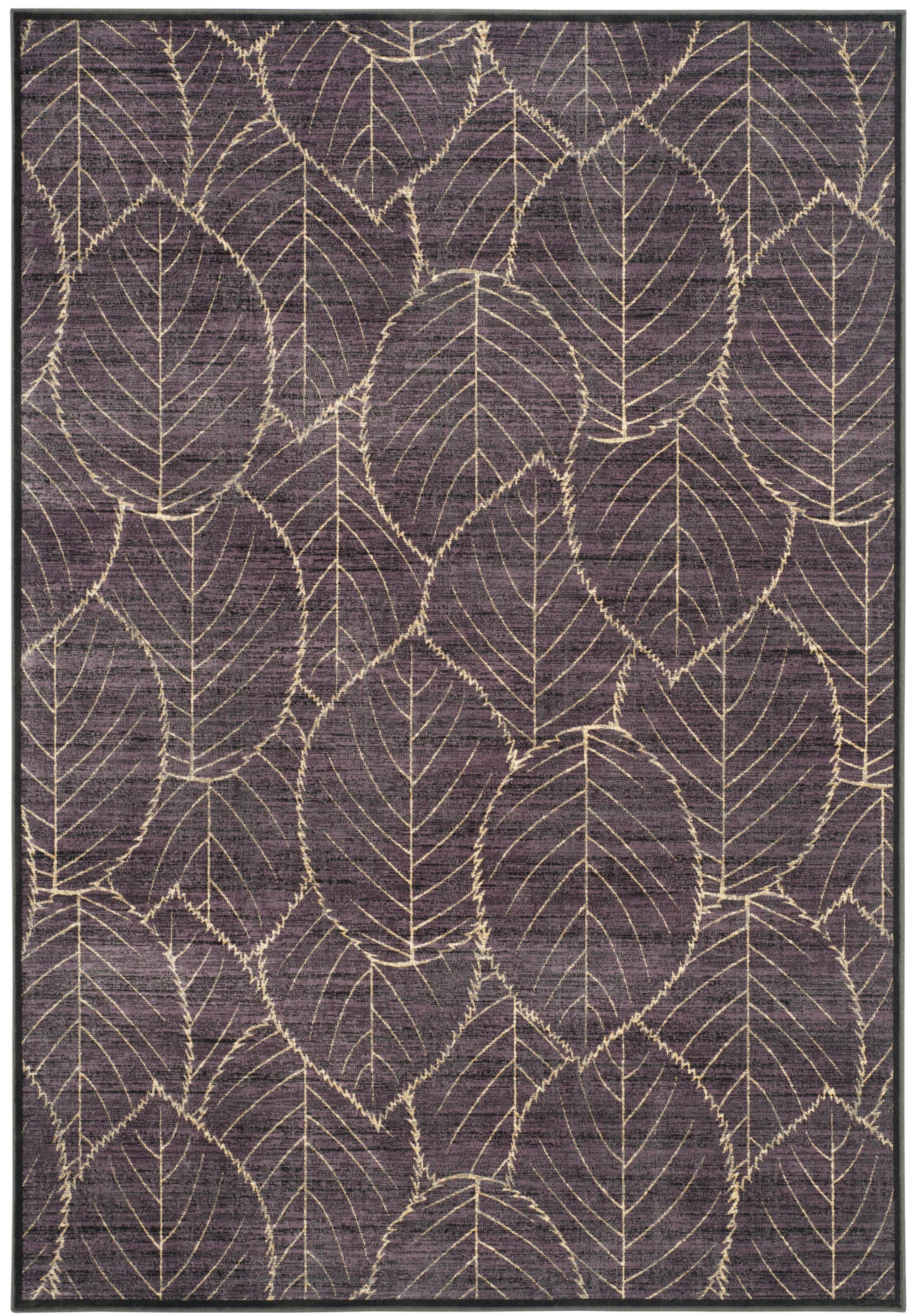 Martha Stewart Charcoal Area Rug Rug Size: Rectangle 5'3