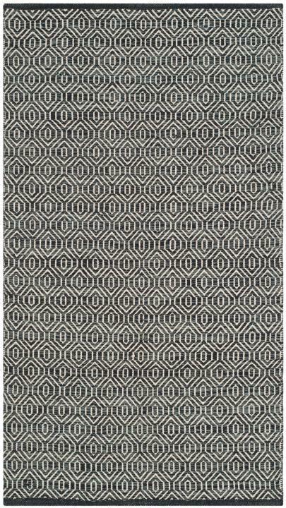 Shevchenko Place Hand-Woven Ivory / Dark Grey Area Rug Rug Size: Rectangle 8' x 10'
