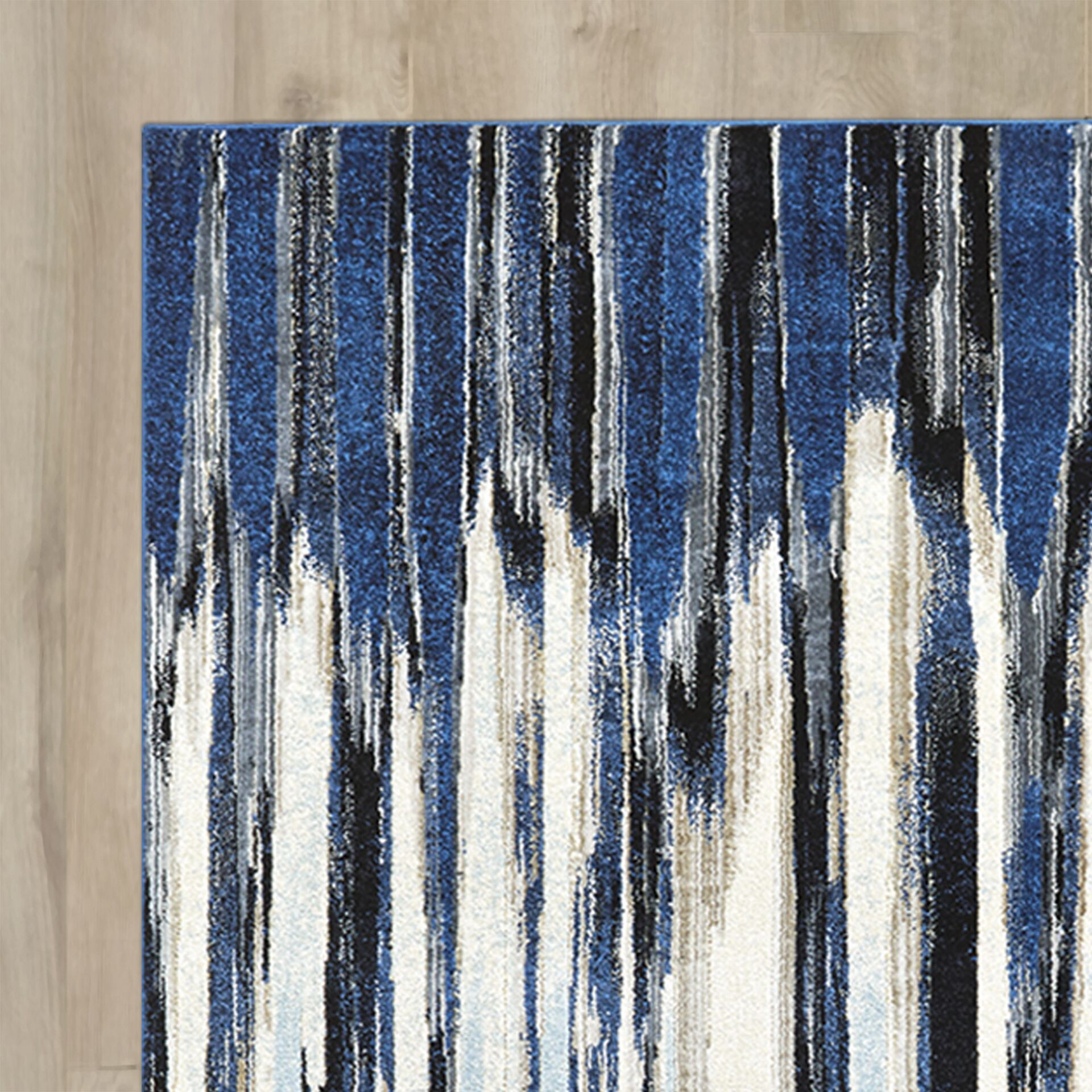 Beach Channel Indigo Area Rug Rug Size: Runner 2'7