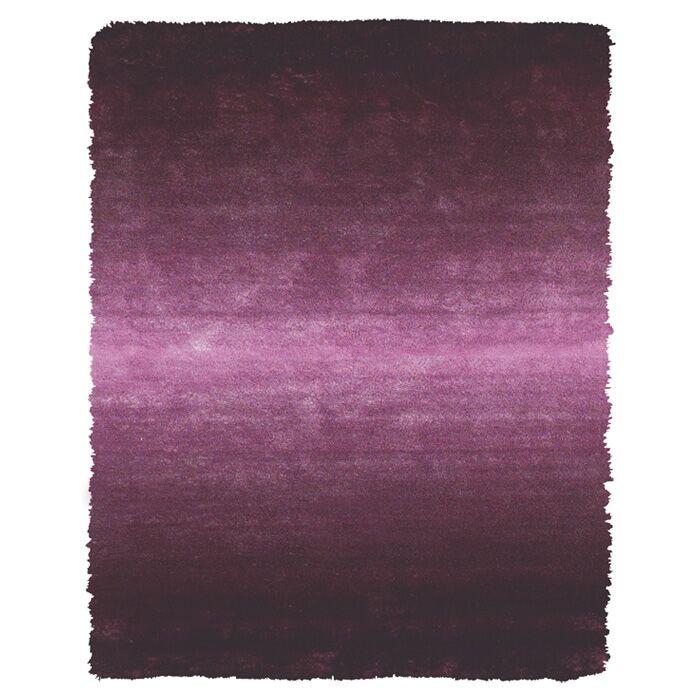 Sapienza Purple Area Rug Rug Size: Rectangle 4'9