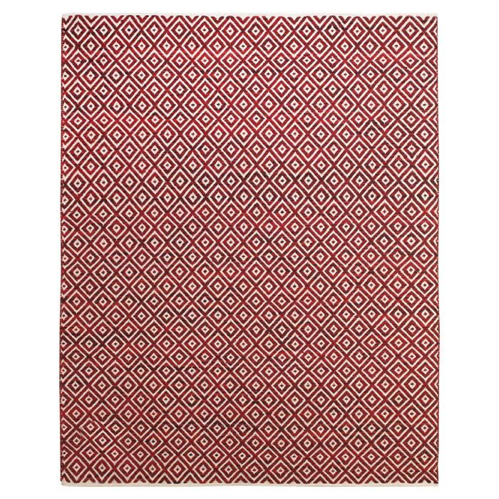 Sarratt Red Area Rug Rug Size: Rectangle 5' x 8'