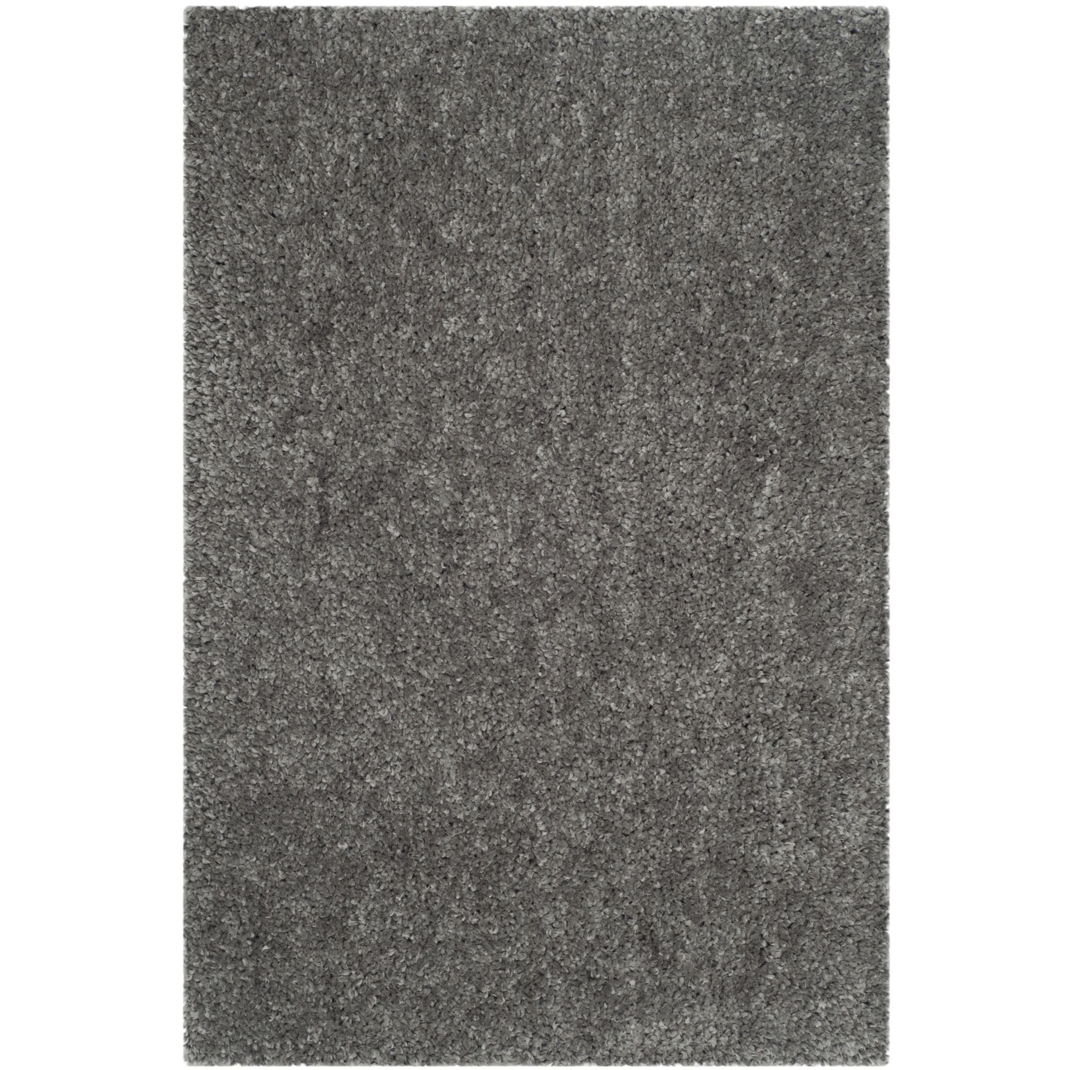 Bellar Shag Silver Solid Rug Rug Size: Rectangle 4' x 6'