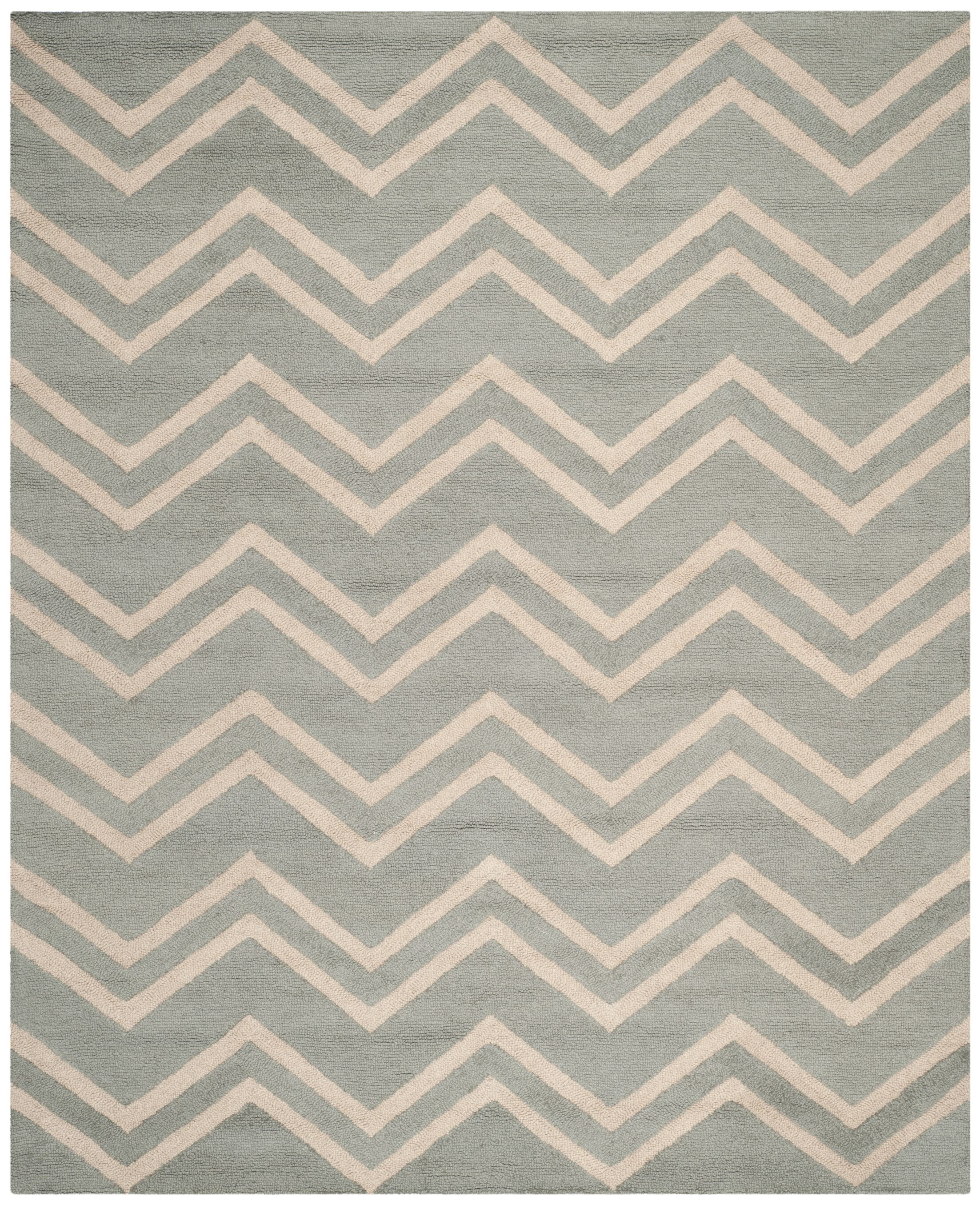 Charlenne Gray & Beige Area Rug Rug Size: Rectangle 3' x 5'