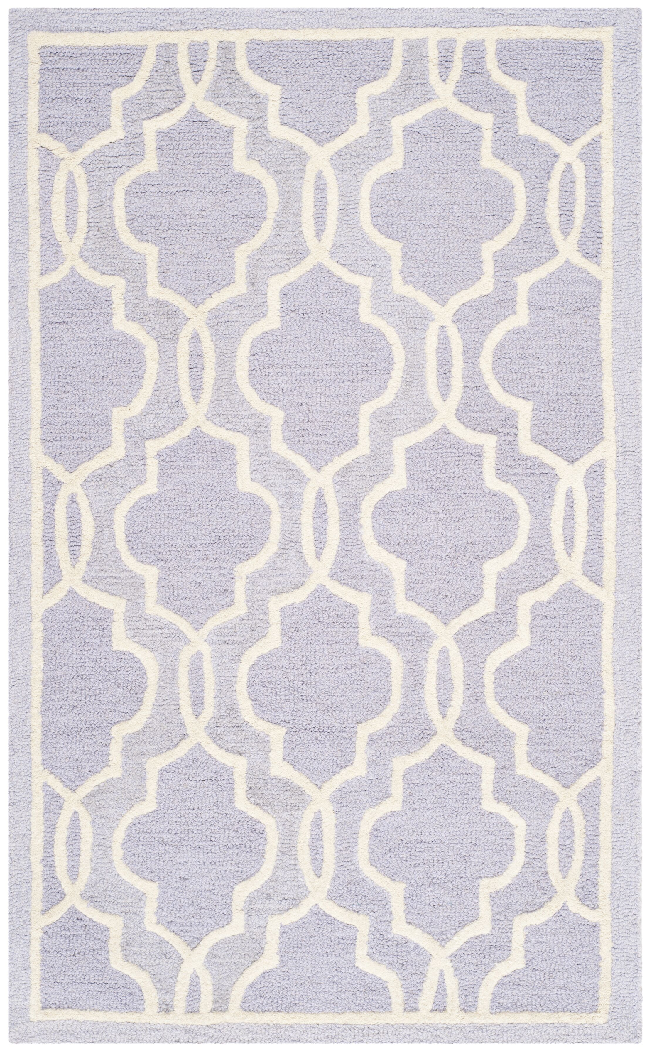 Martins Lavender   Area Rug Rug Size: Rectangle 3' x 5'