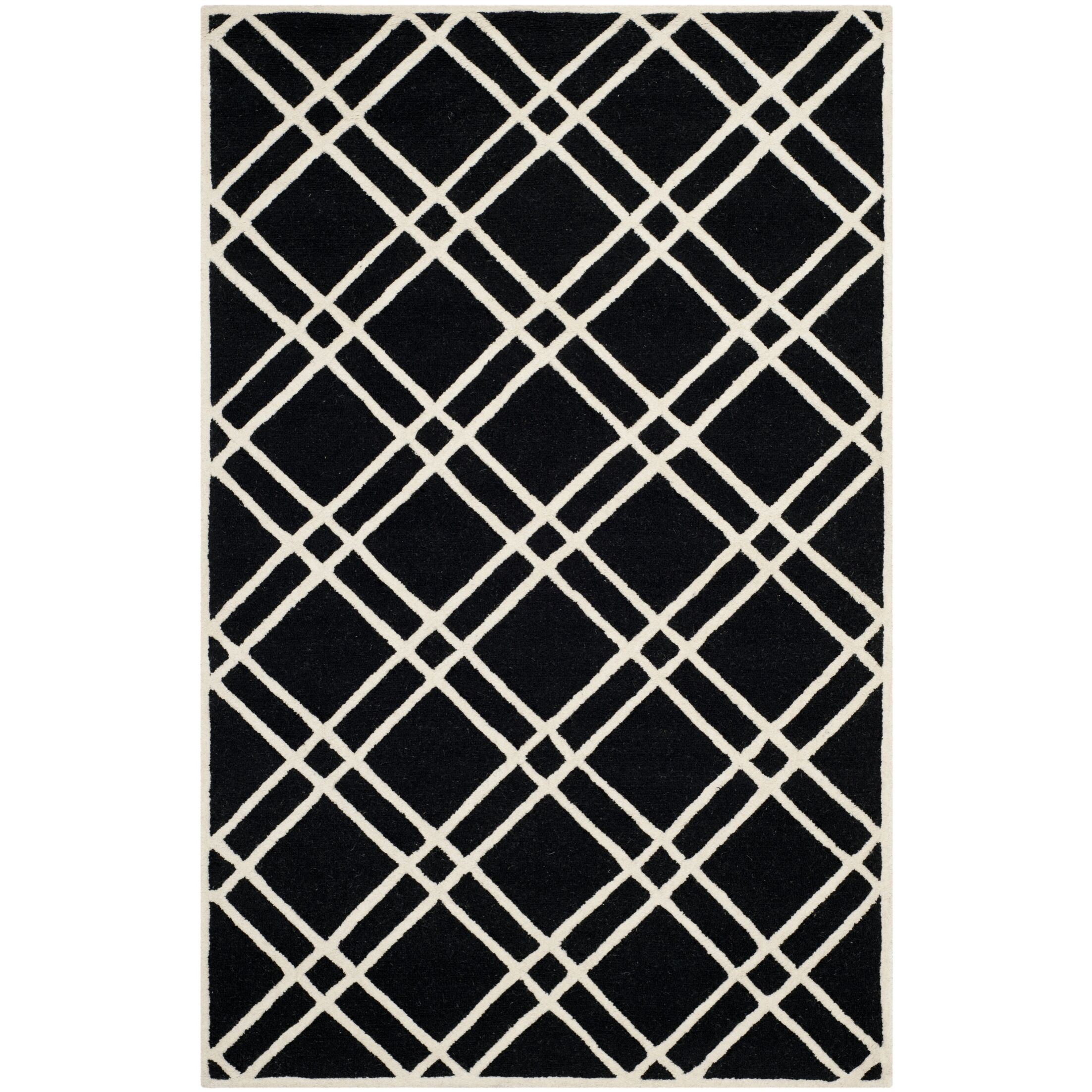 Martins Hand-Tufted Wool Area Rug Rug Size: Rectangle 3' x 5'