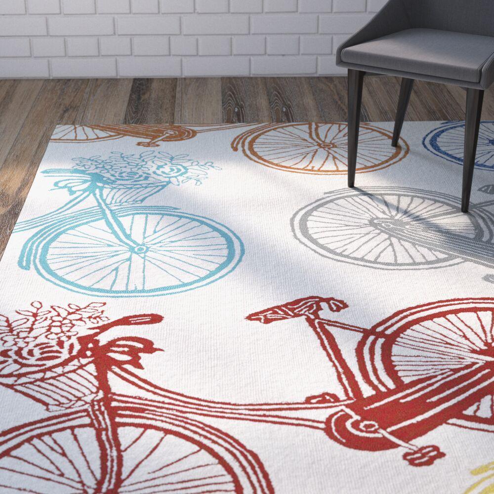 Sea Handmade Indoor / Outdoor Area Rug Rug Size: Rectangle 5' x 7'6