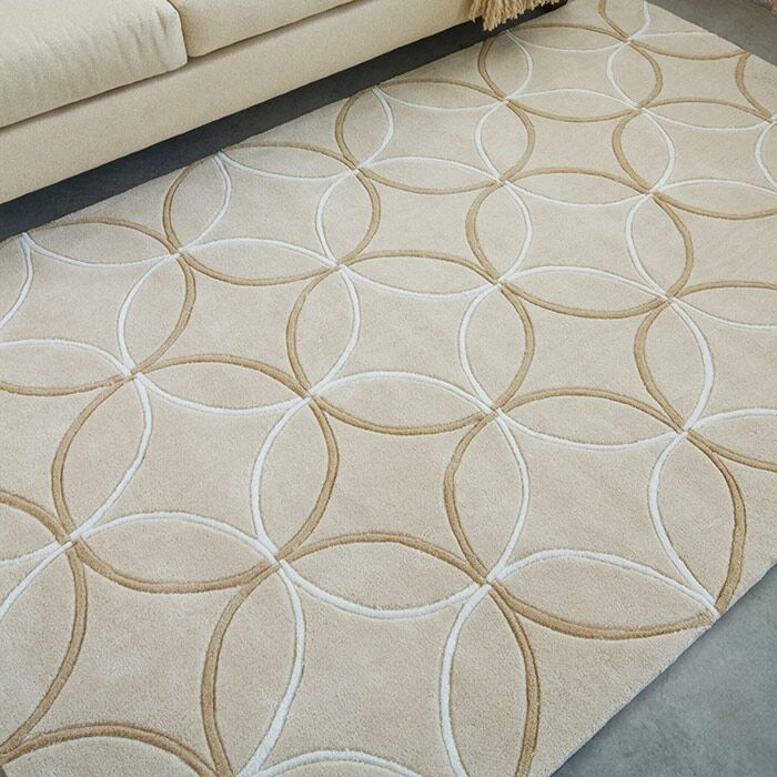 Conroy Tan Area Rug Rug Size: Rectangle 3'6