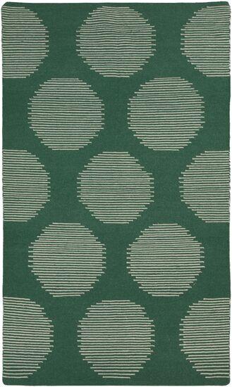 Donley Juniper Green Geometric Area Rug Rug Size: Rectangle 5' x 8'