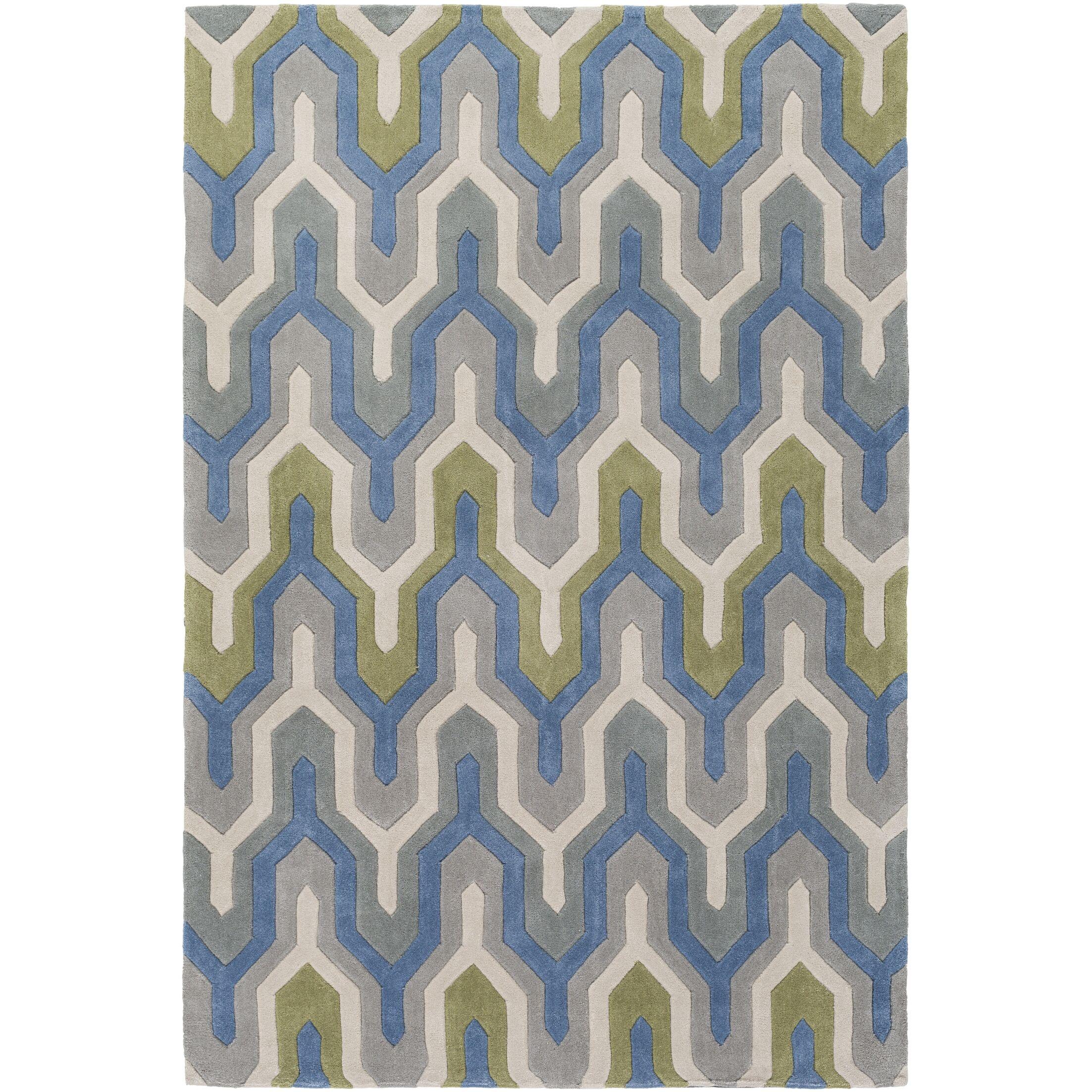 Conroy Hand-Tufted Area Rug Rug Size: Rectangle 8' x 11'