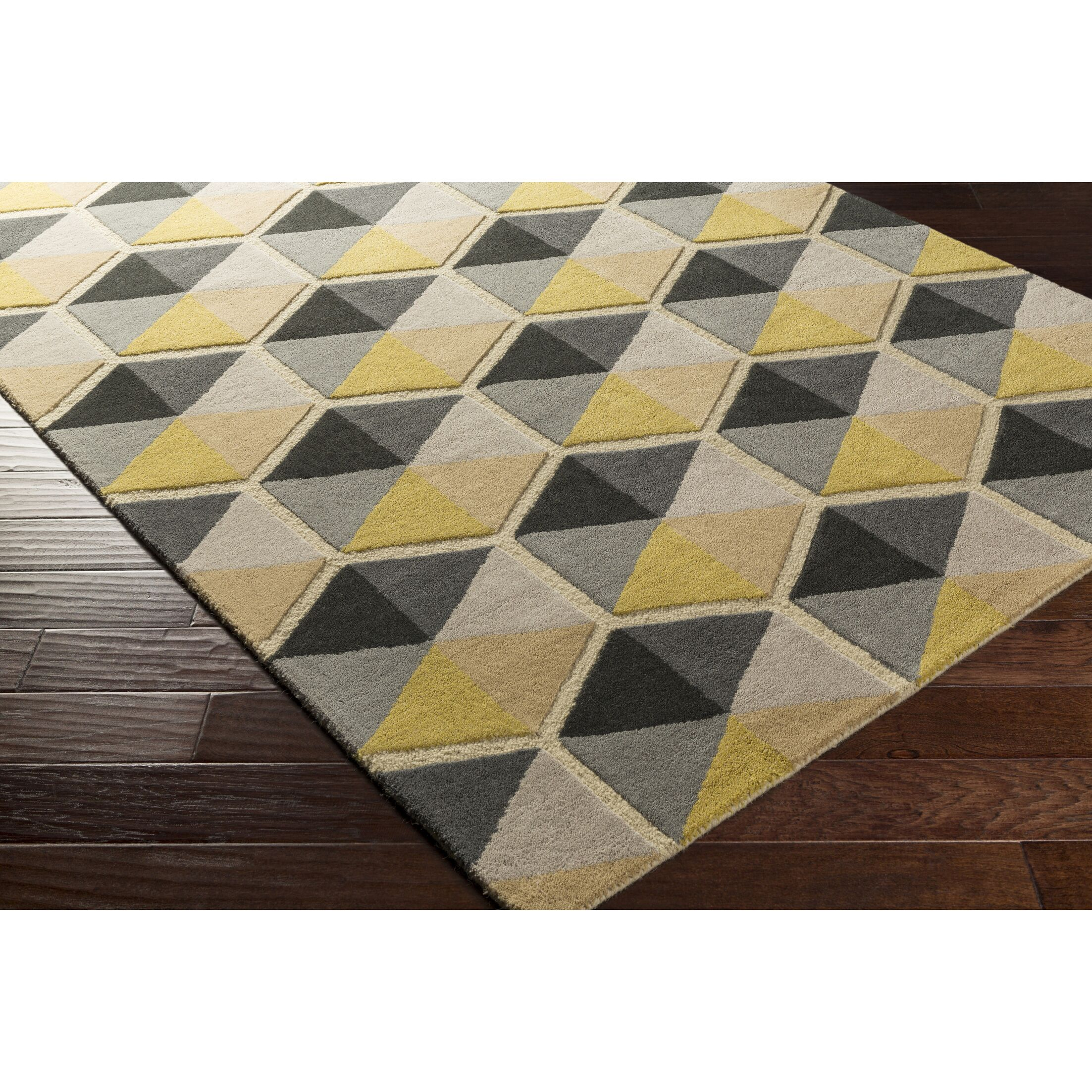 Nida Hand-Tufted Neutral/Brown Area Rug Rug Size: Rectangle 9' x 13'
