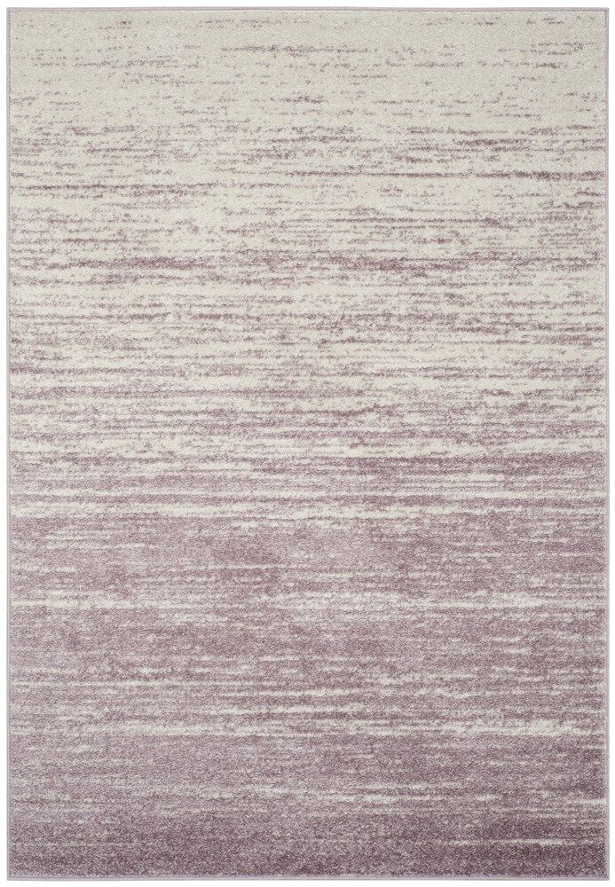 Connie Purple/Cream Area Rug Rug Size: Runner 2'6