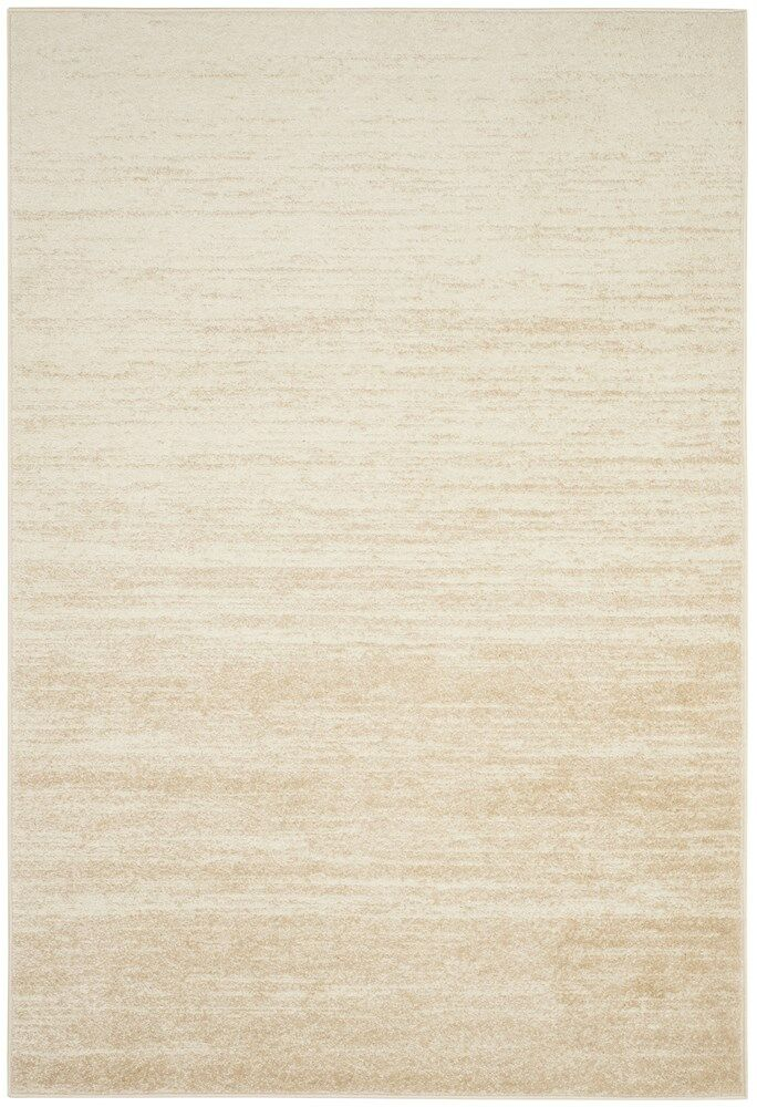 Connie Champagne/Cream Area Rug Rug Size: Rectangle 5'1