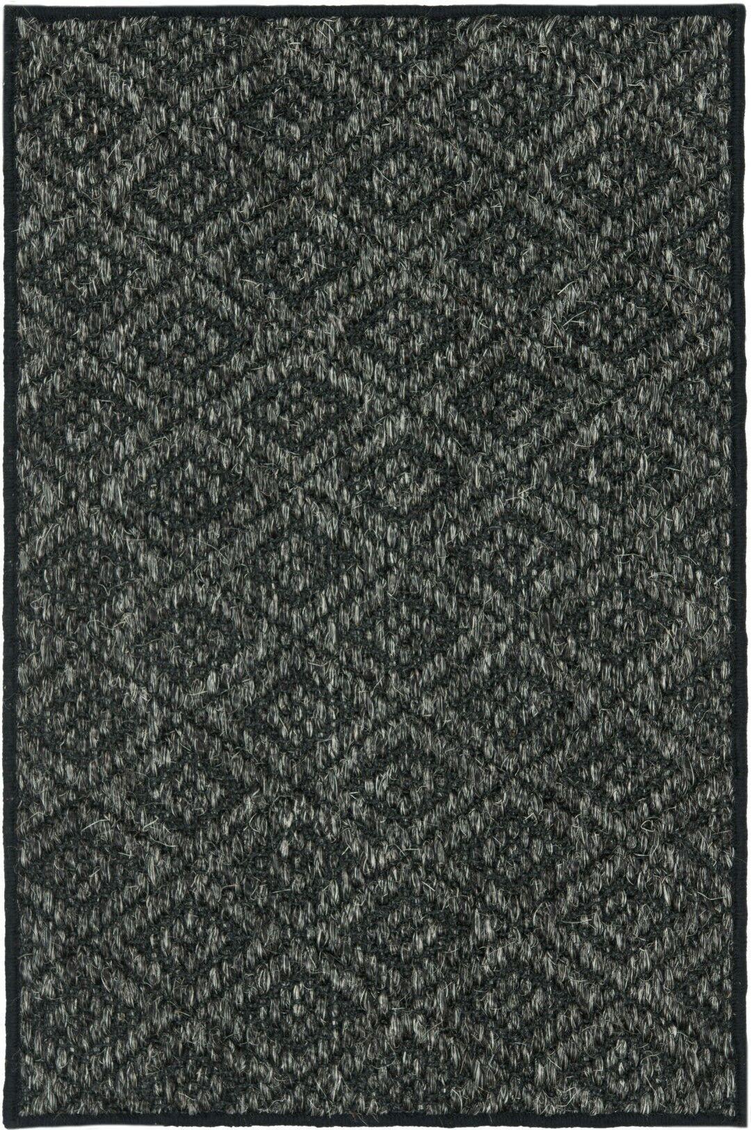 Lexington Charcoal Area Rug Rug Size: Rectangle 3' x 5'