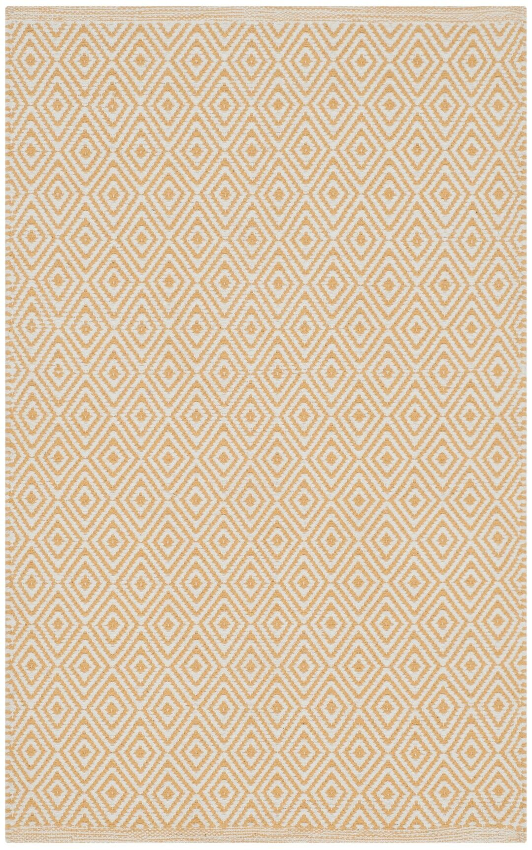 Shevchenko Place Hand-Woven Ivory/Gold Area Rug Rug Size: Rectangle 5' x 8'