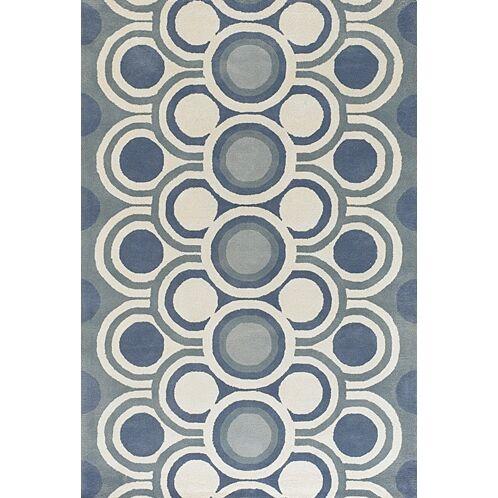Sieber Blue Area Rug Rug Size: Rectangle 5' x 7'6