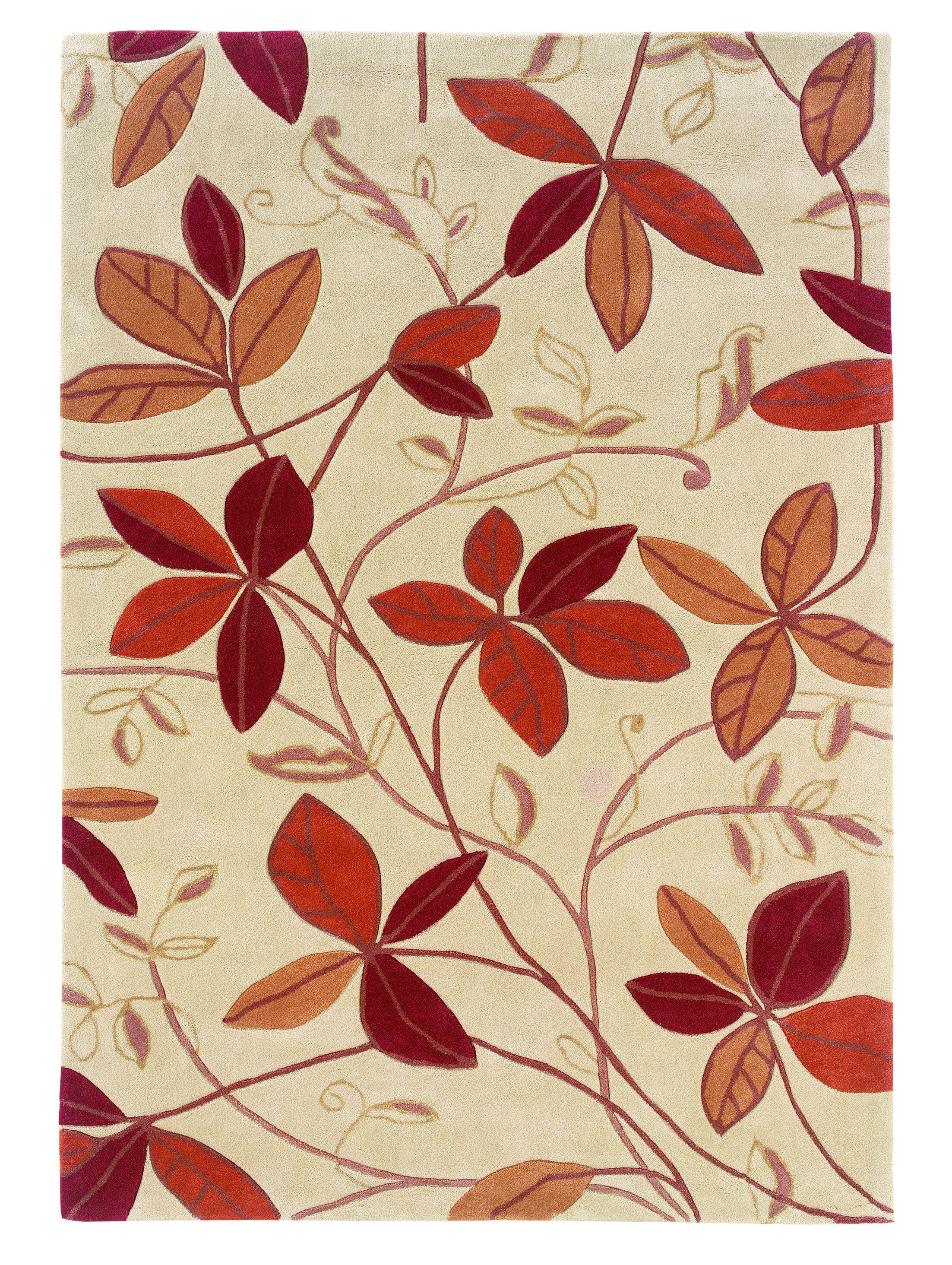 Fugen Hand-Tufted Tan Area Rug Rug Size: 8' x 10'