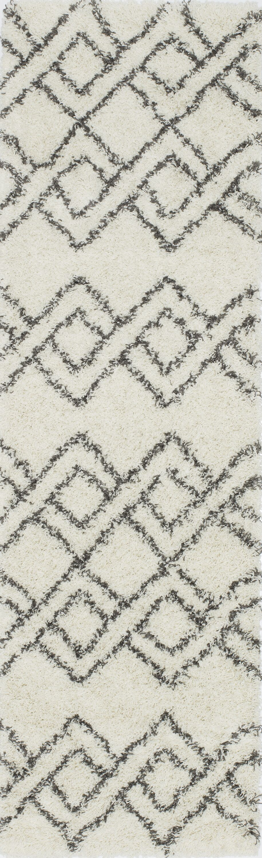 Seabolt Ivory Area Rug Rug Size: Rectangle 3'11