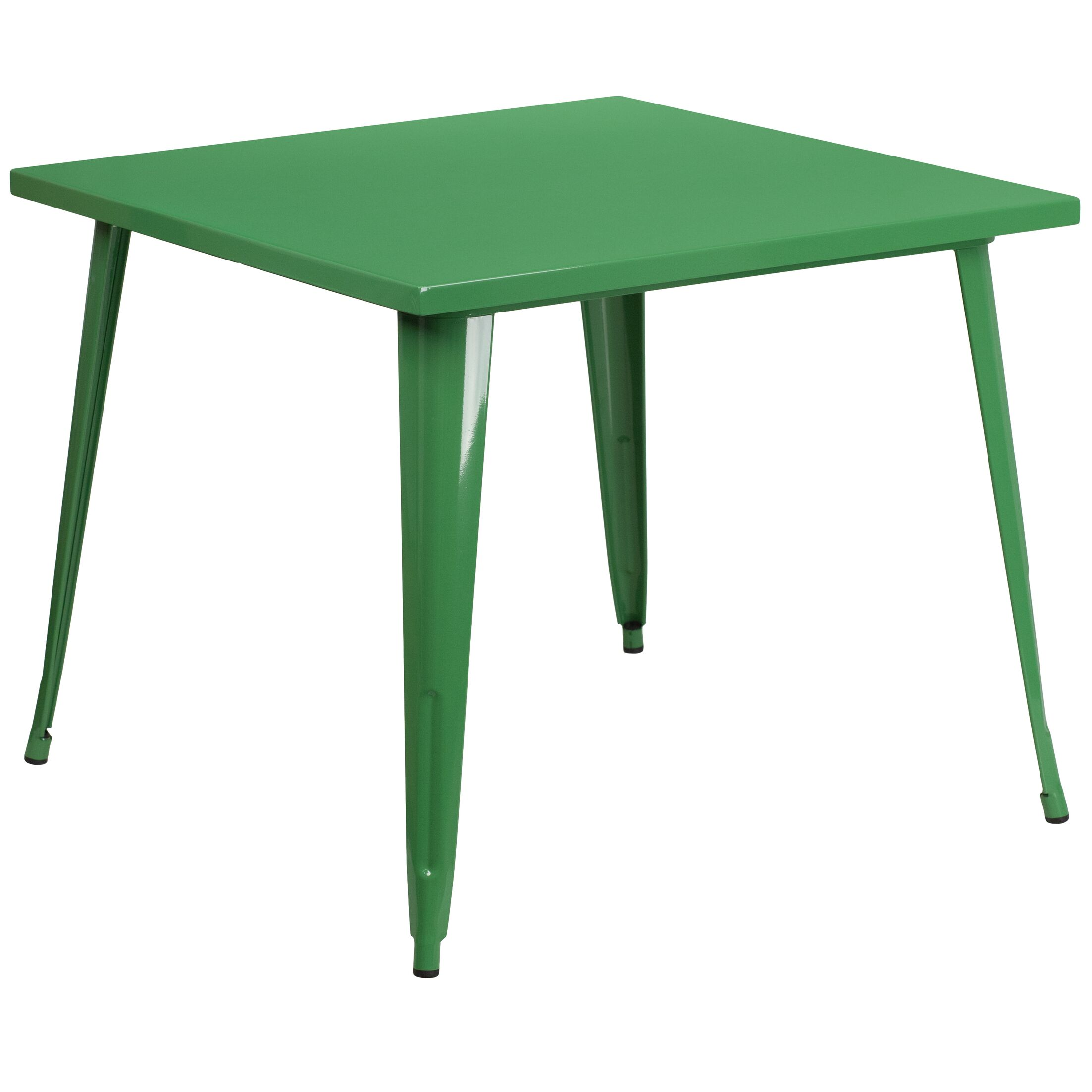 Auld Bistro Table Finish: Green