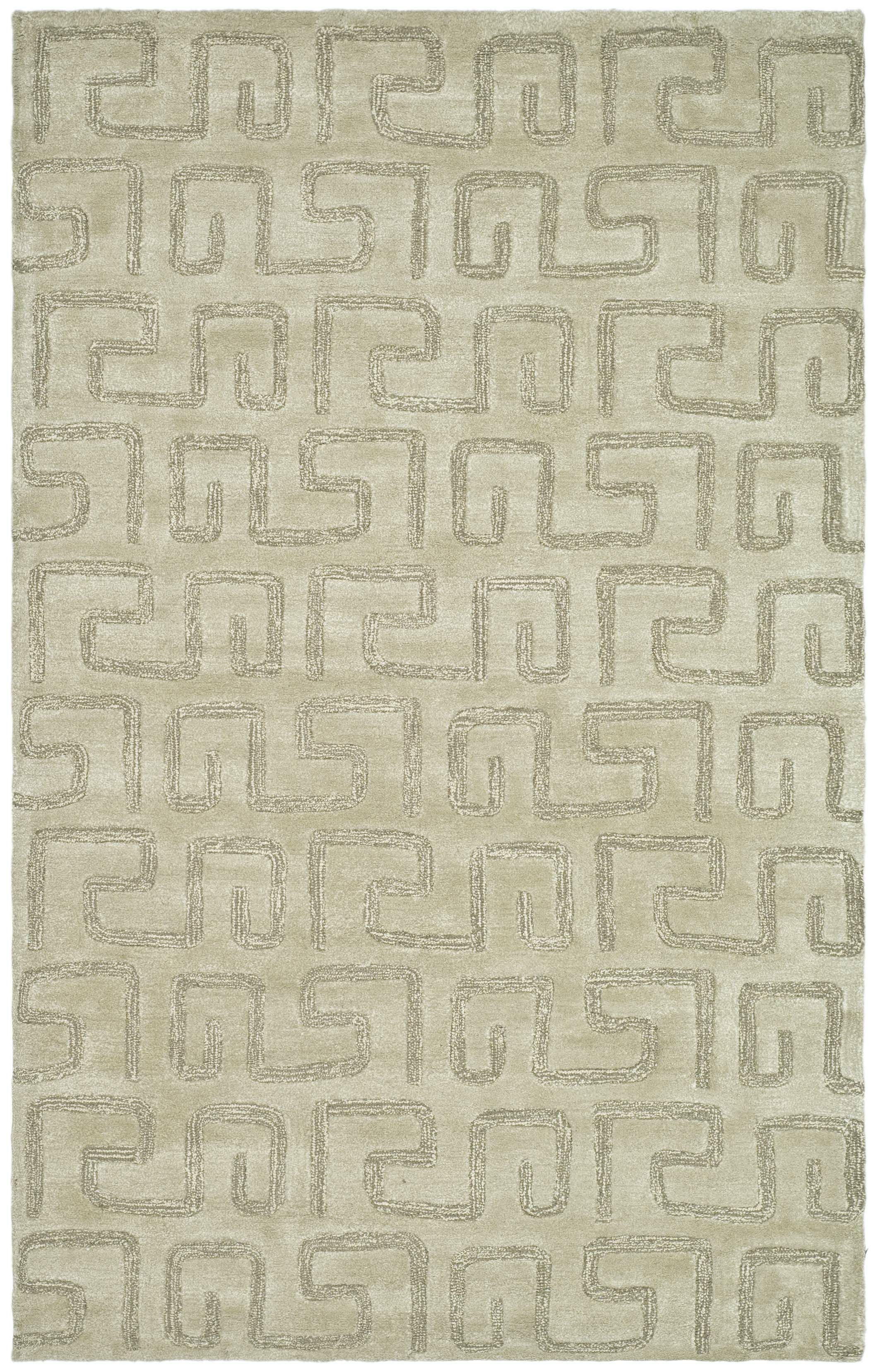 Armstrong Hand-Tufted Taupe Area Rug Rug Size: Rectangle 7'6
