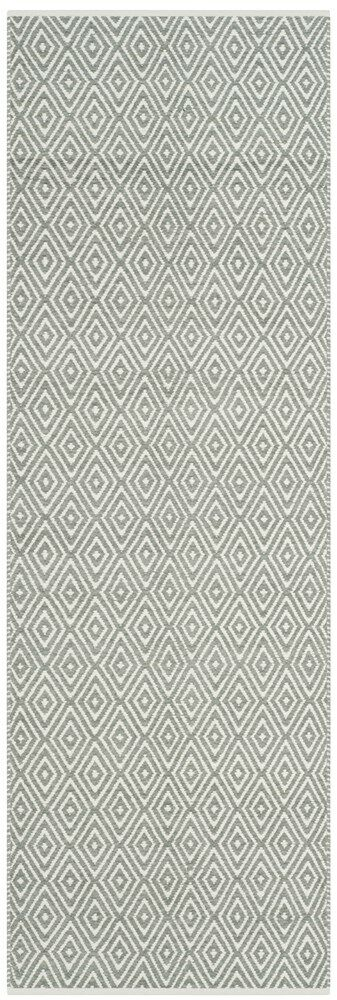 Scheid Hand-Tufted Gray Area Rug Rug Size: Rectangle 4' x 6'