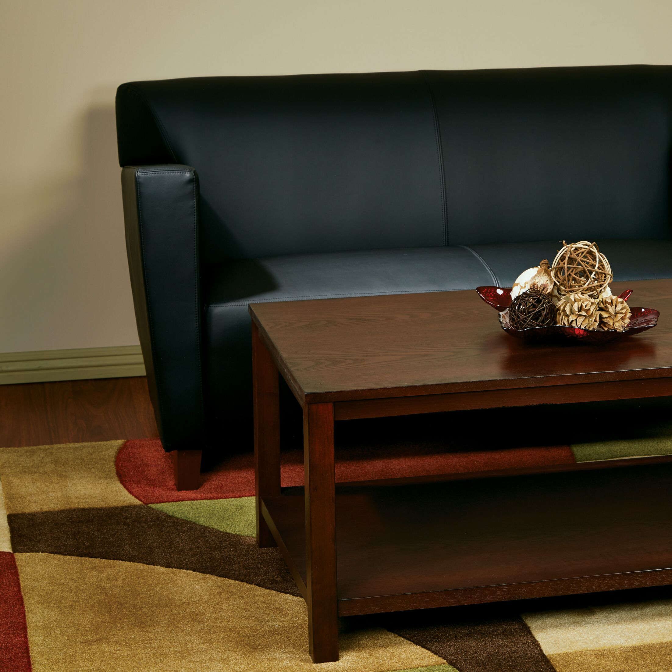 Crown Heights Coffee Table Color: Mahogany