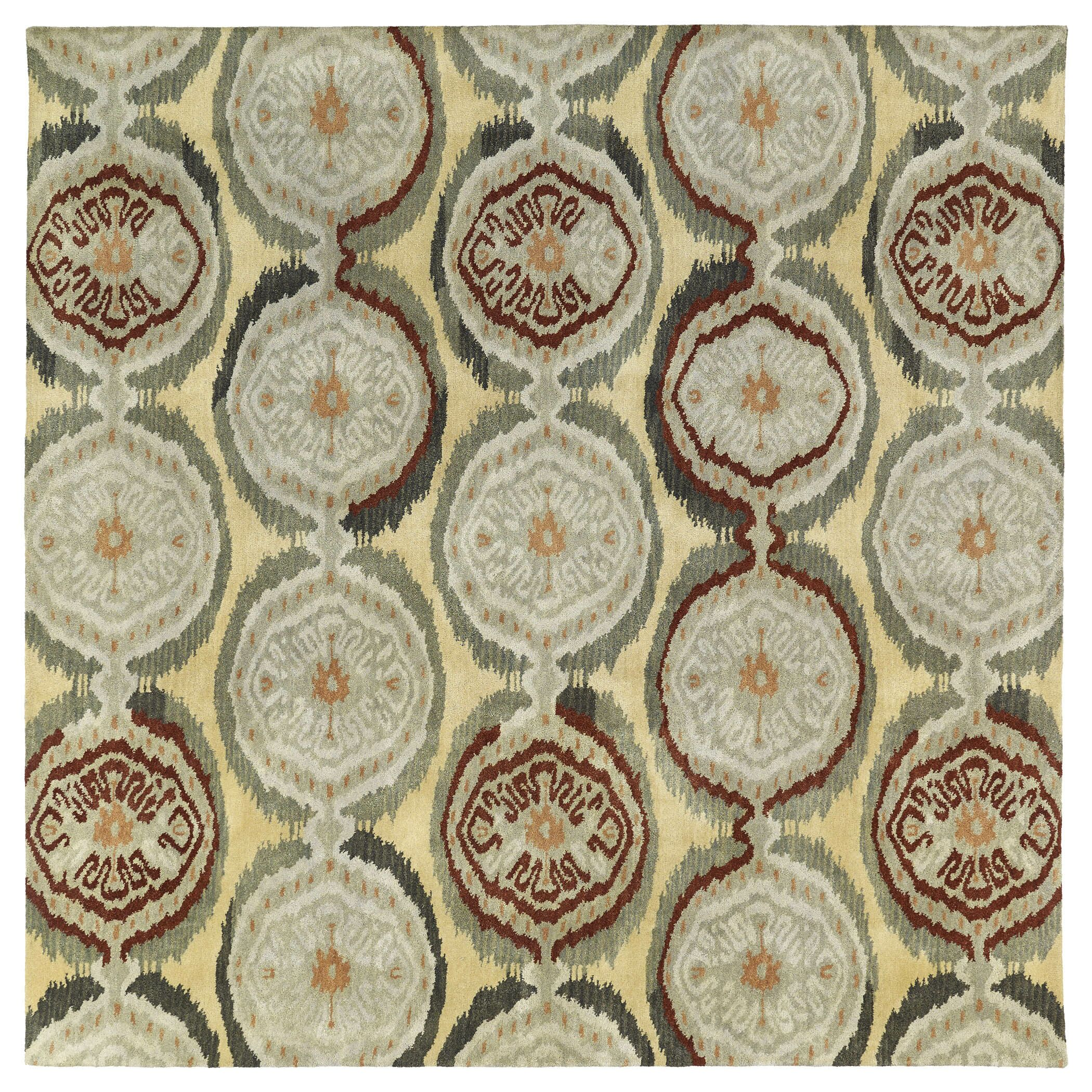 Lockport Beige Area Rug Rug Size: Rectangle 7'6