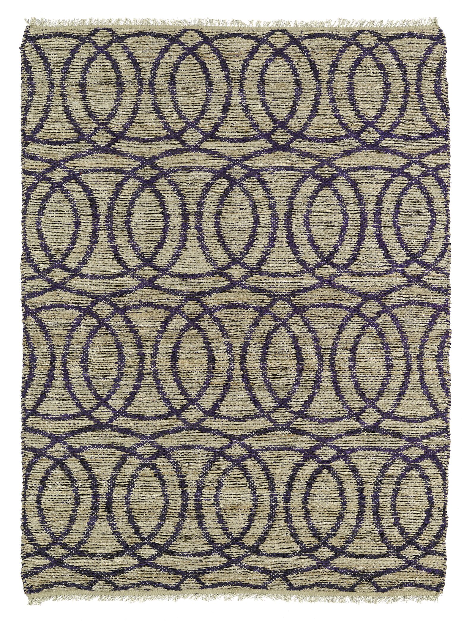 Millbourne Grey/Purple Area Rug Rug Size: Rectangle 3'6