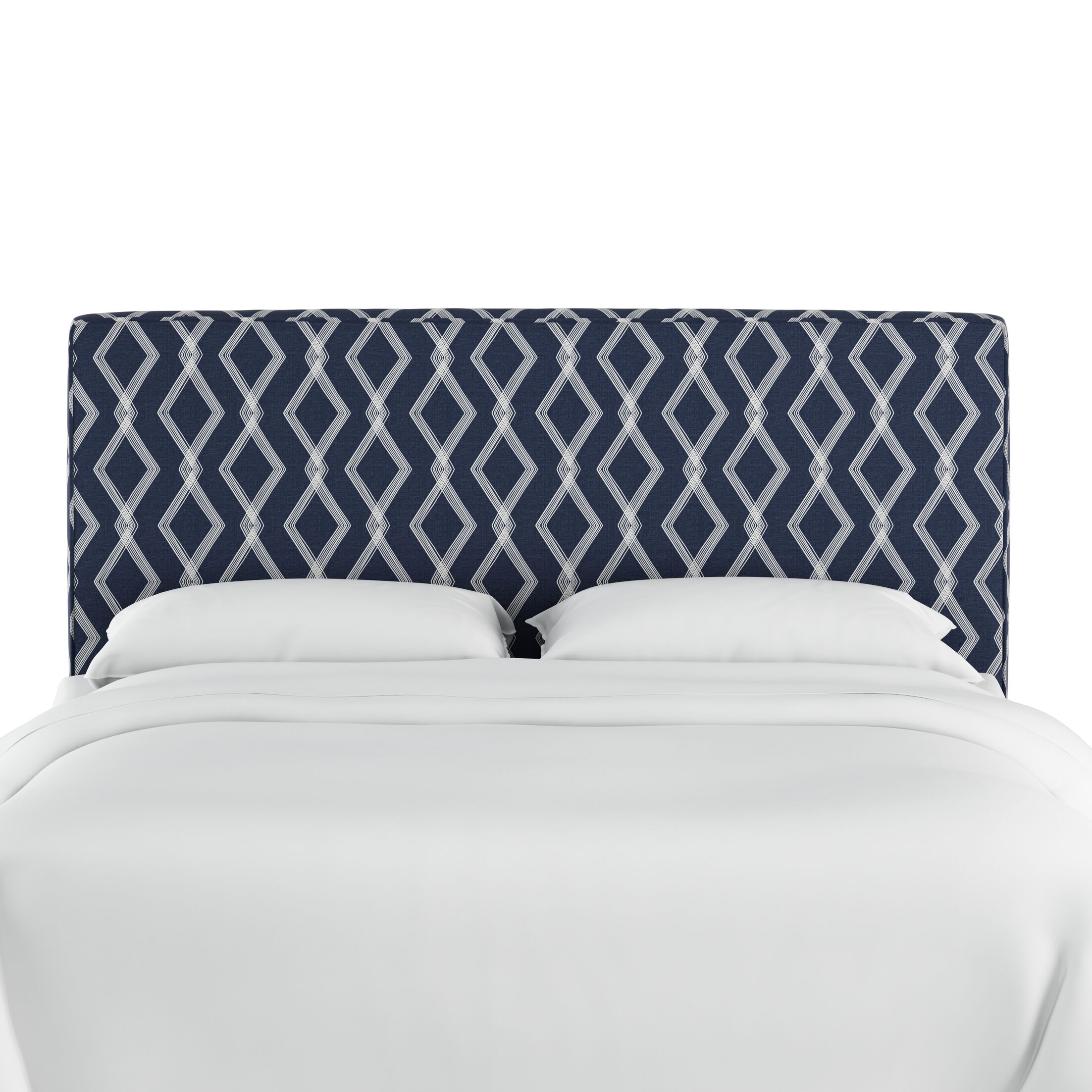 Edford Upholstered Panel Headboard Size: Queen