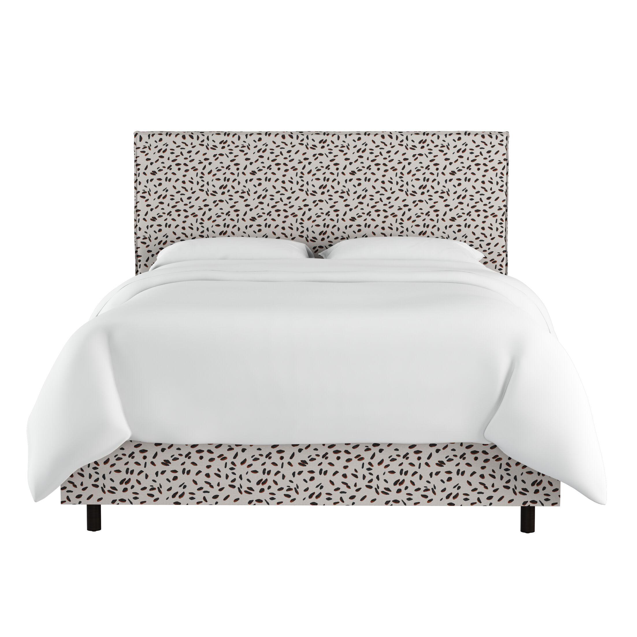 Marksbury Slipcover Upholstered Panel Bed Size: King