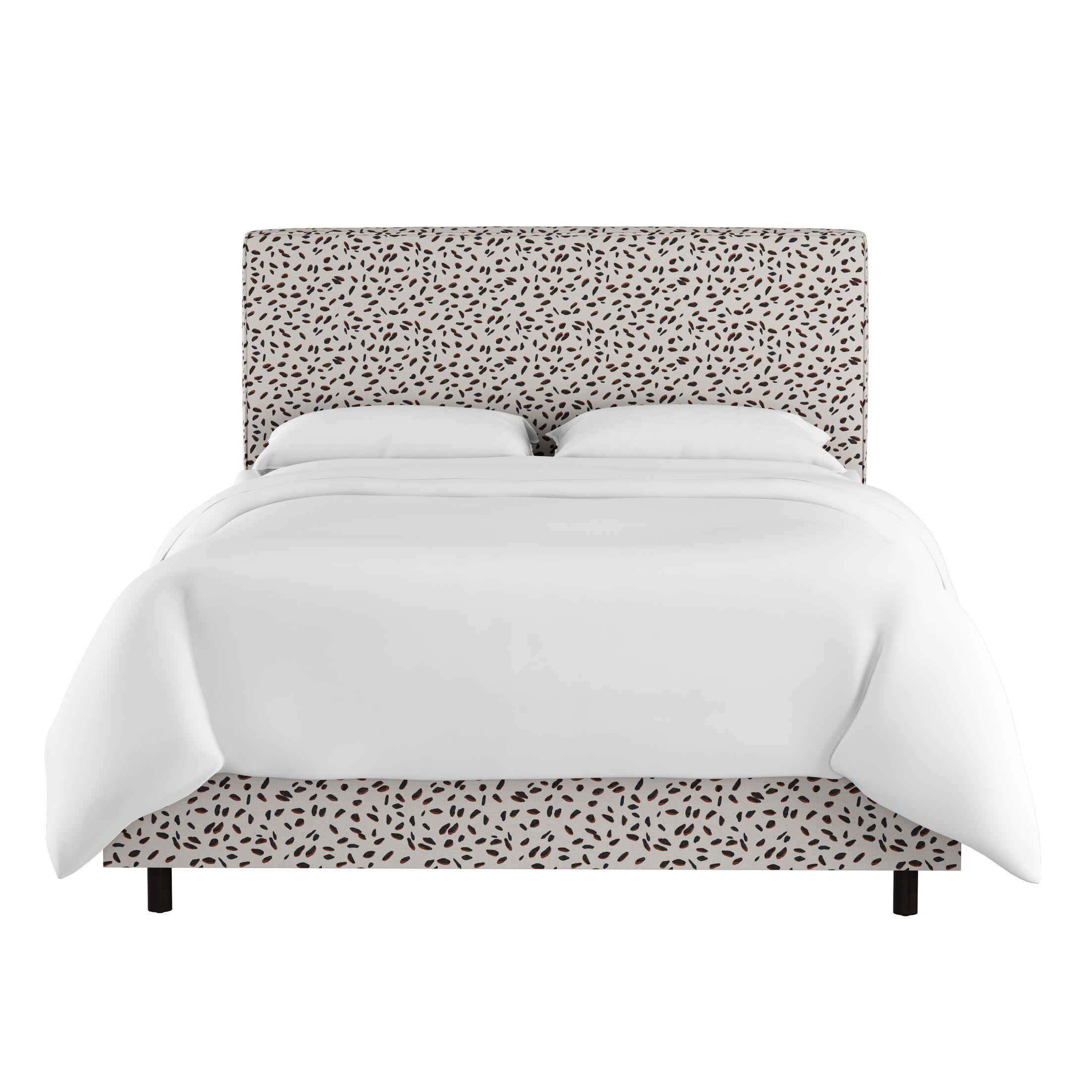 Marksbury Upholstered Panel Bed Size: King