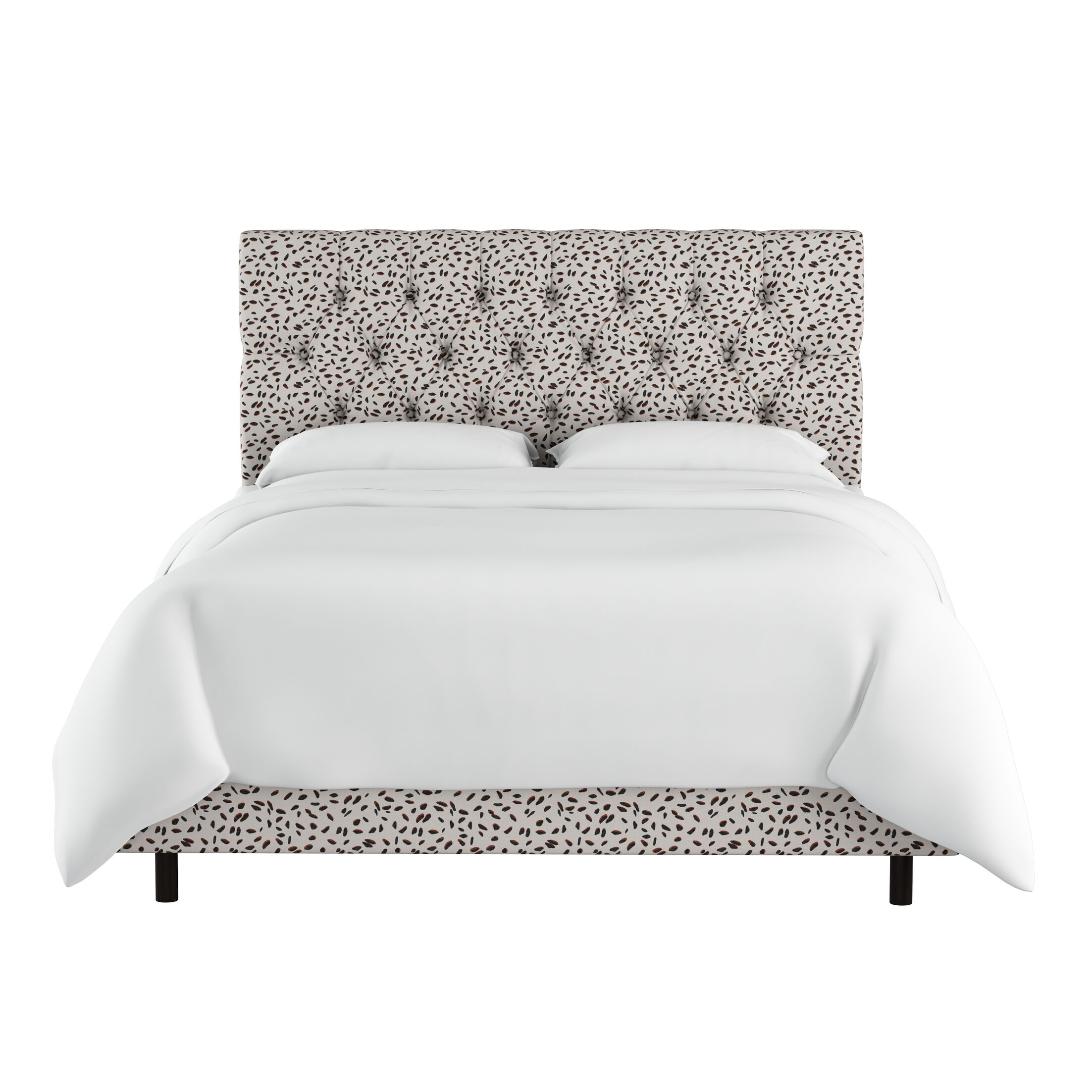 Marksbury Tufted Upholstered Panel Bed Size: Queen