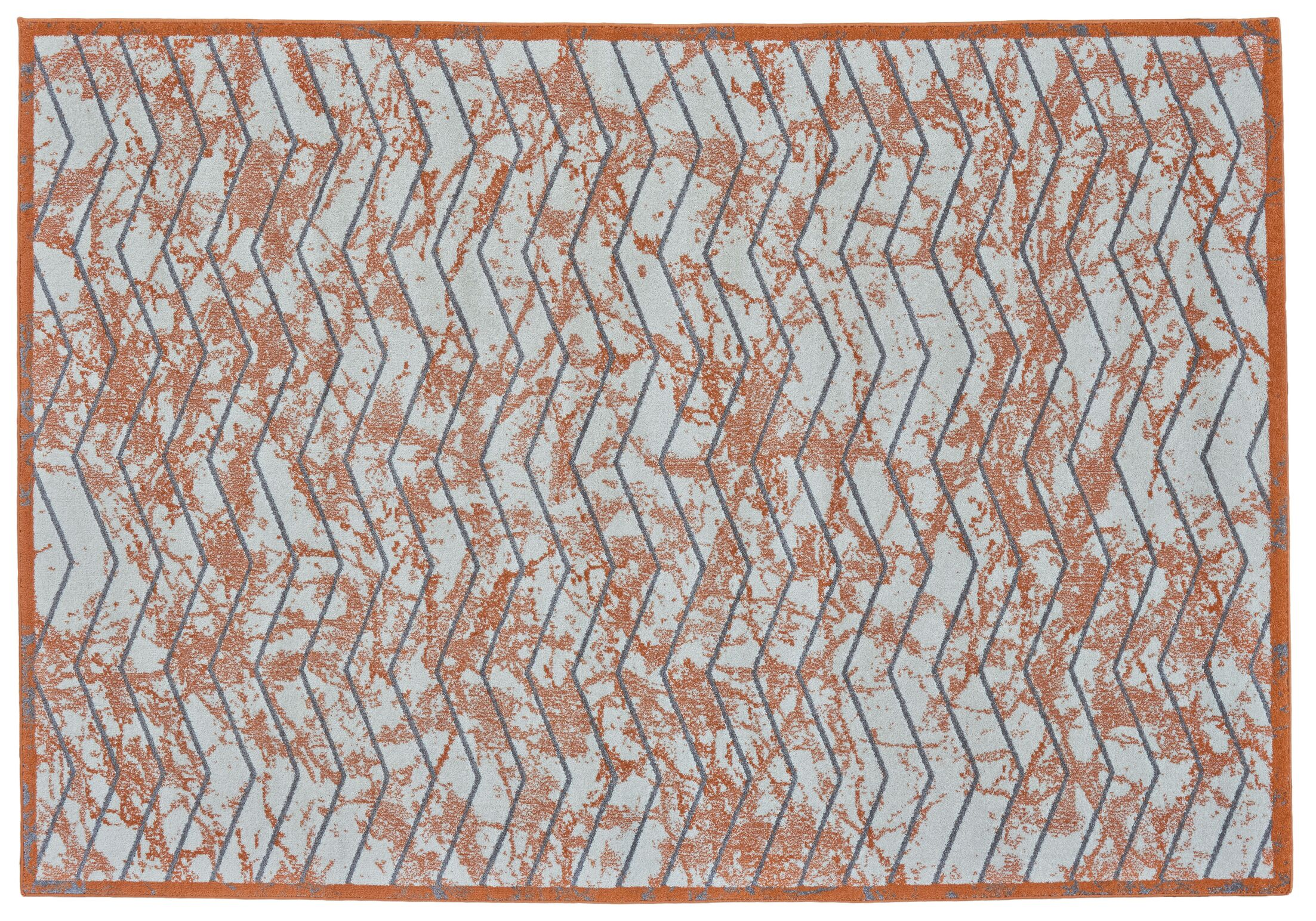 Haire Nectarine Area Rug Rug Size: Rectangle 8' x 11'