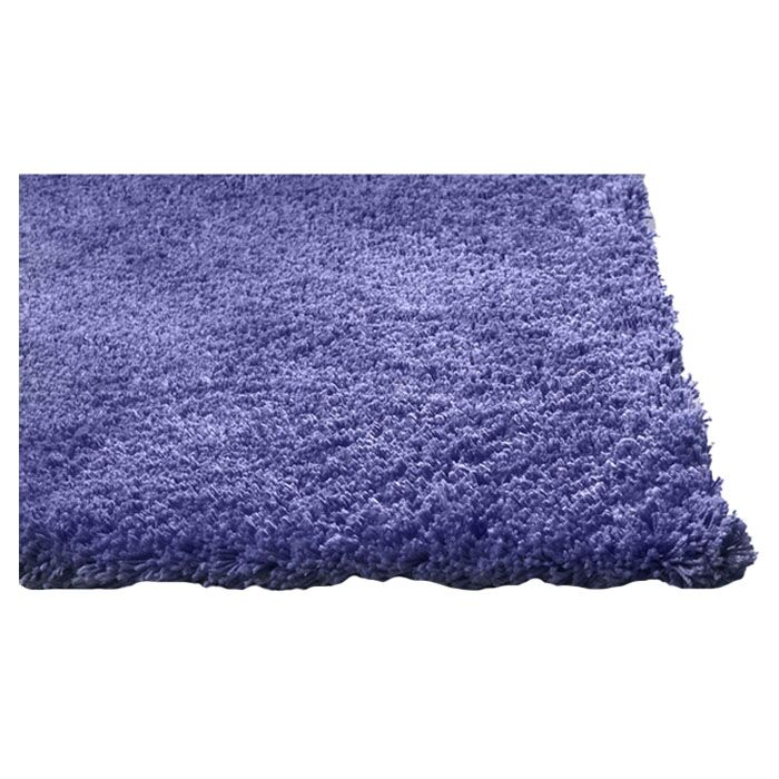 Shaggy Hand-Woven Purple Area Rug Rug Size: Rectangle 5' x 7'