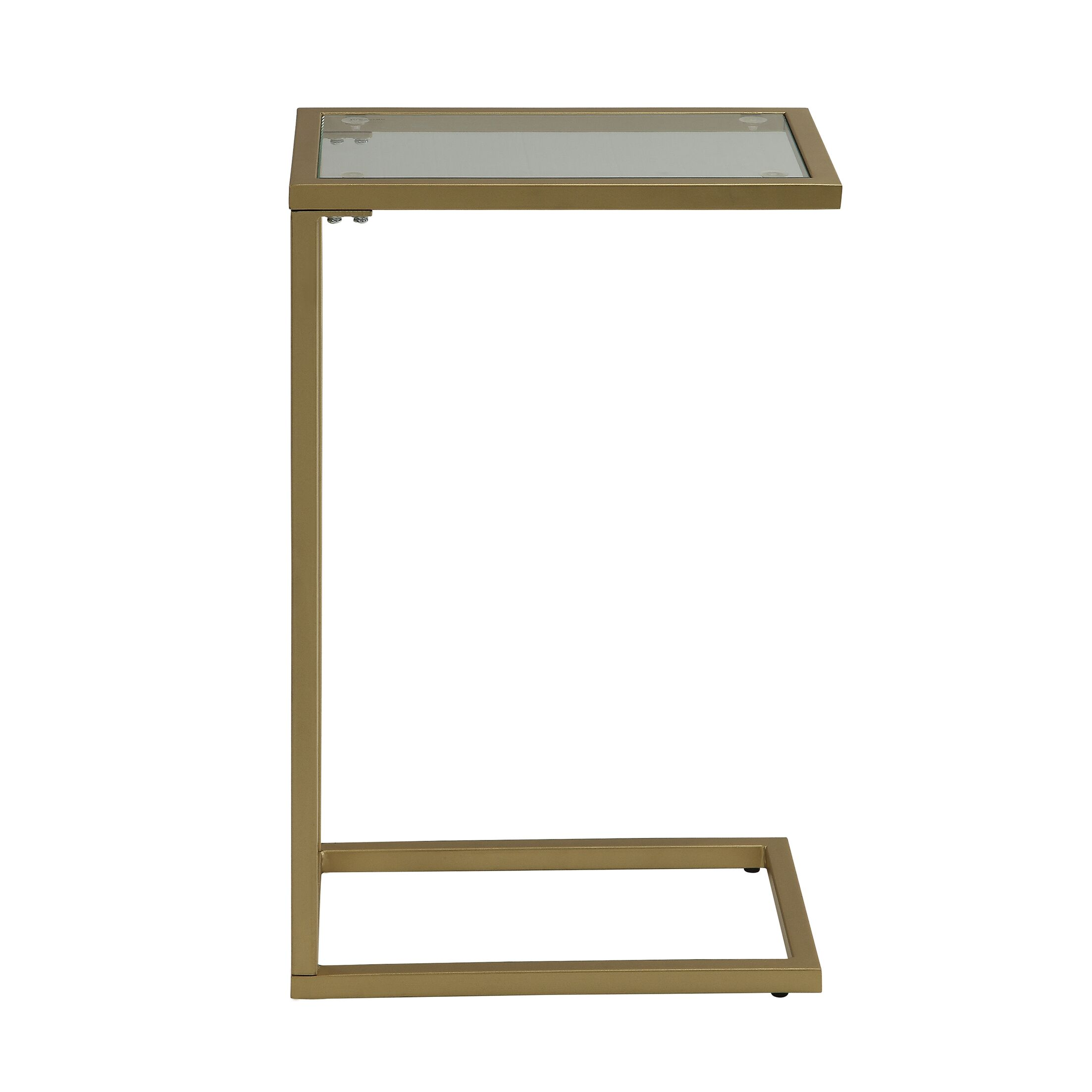 Castillo End Table Color: Gold