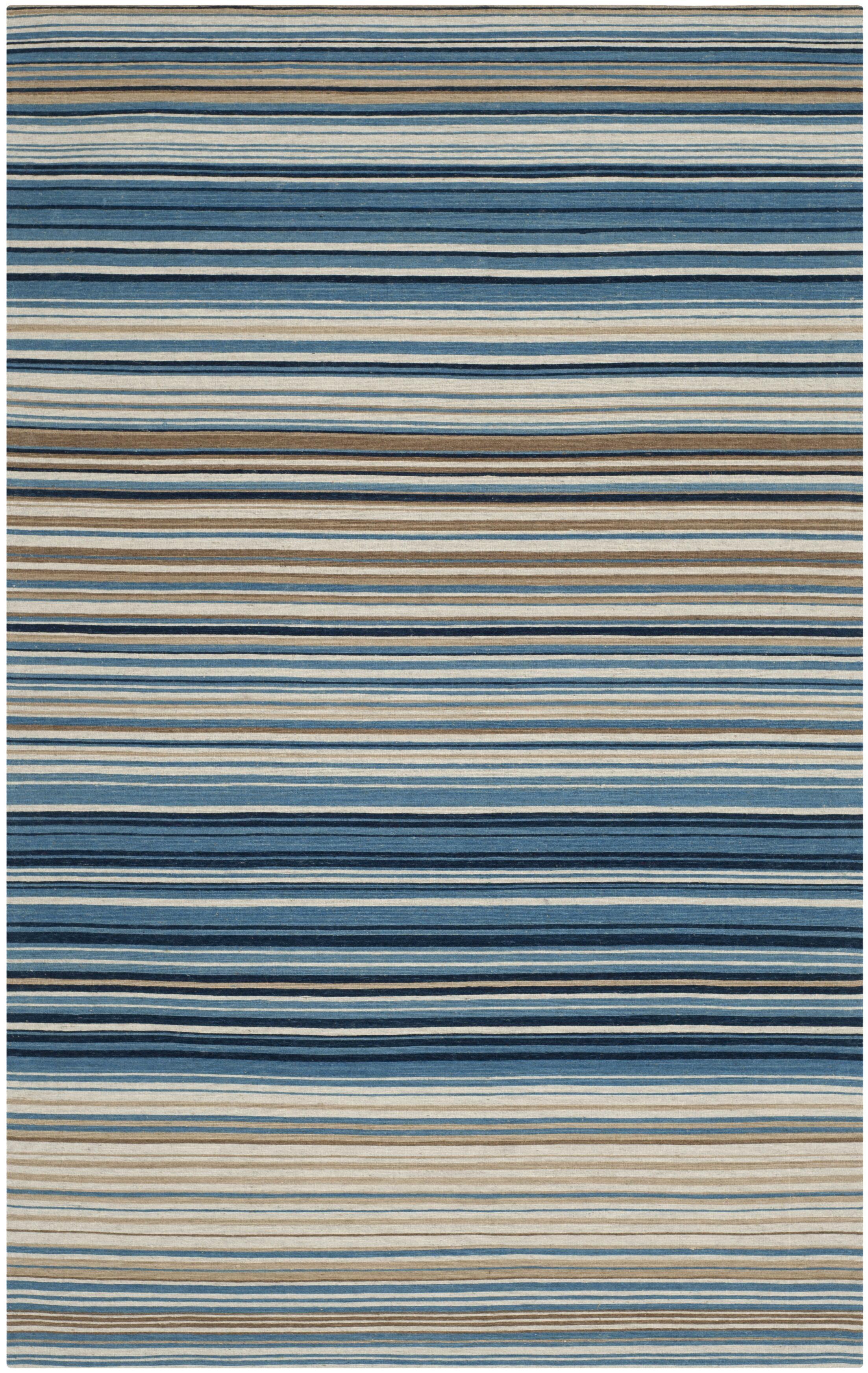 Jefferson Striped Contemporary Area Rug Rug Size: Rectangle 5' x 8'