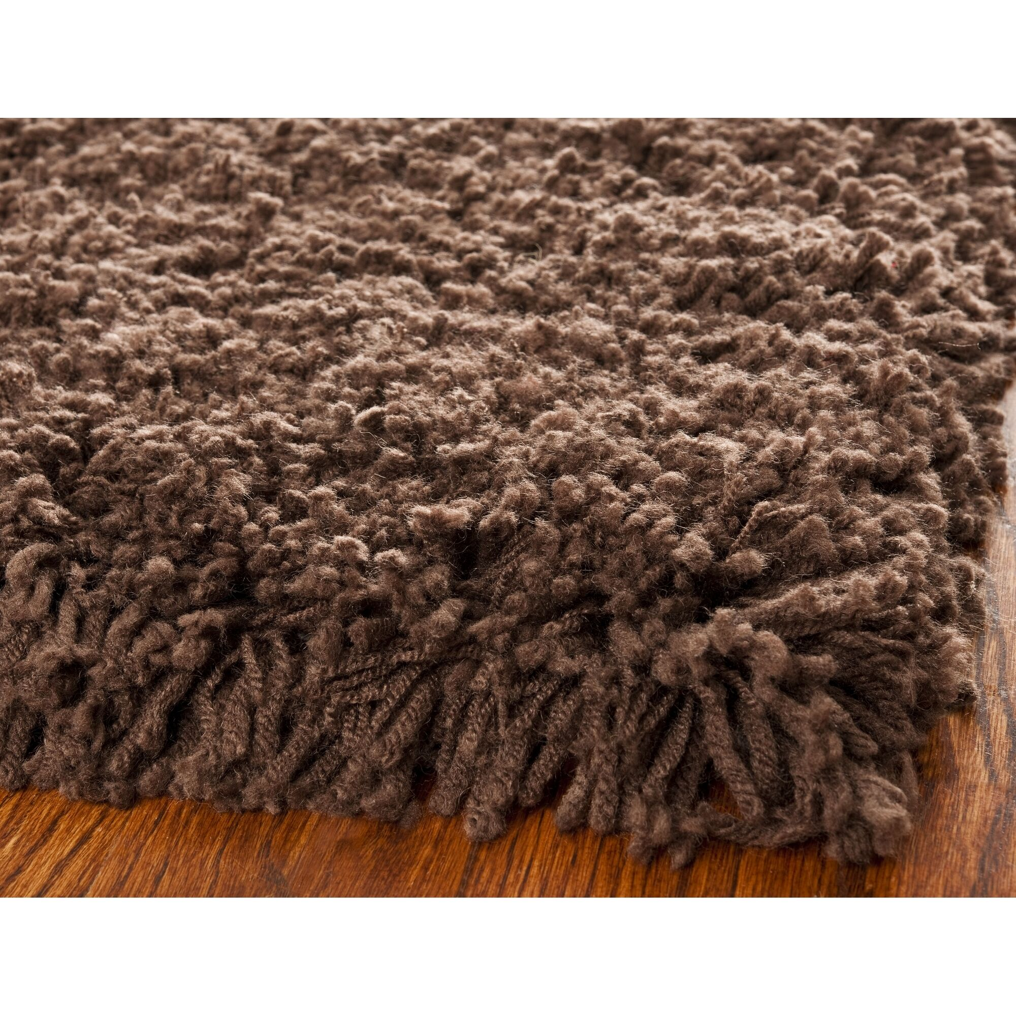 Starr Hill Chocolate Area Rug Rug Size: Rectangle 3' x 5'