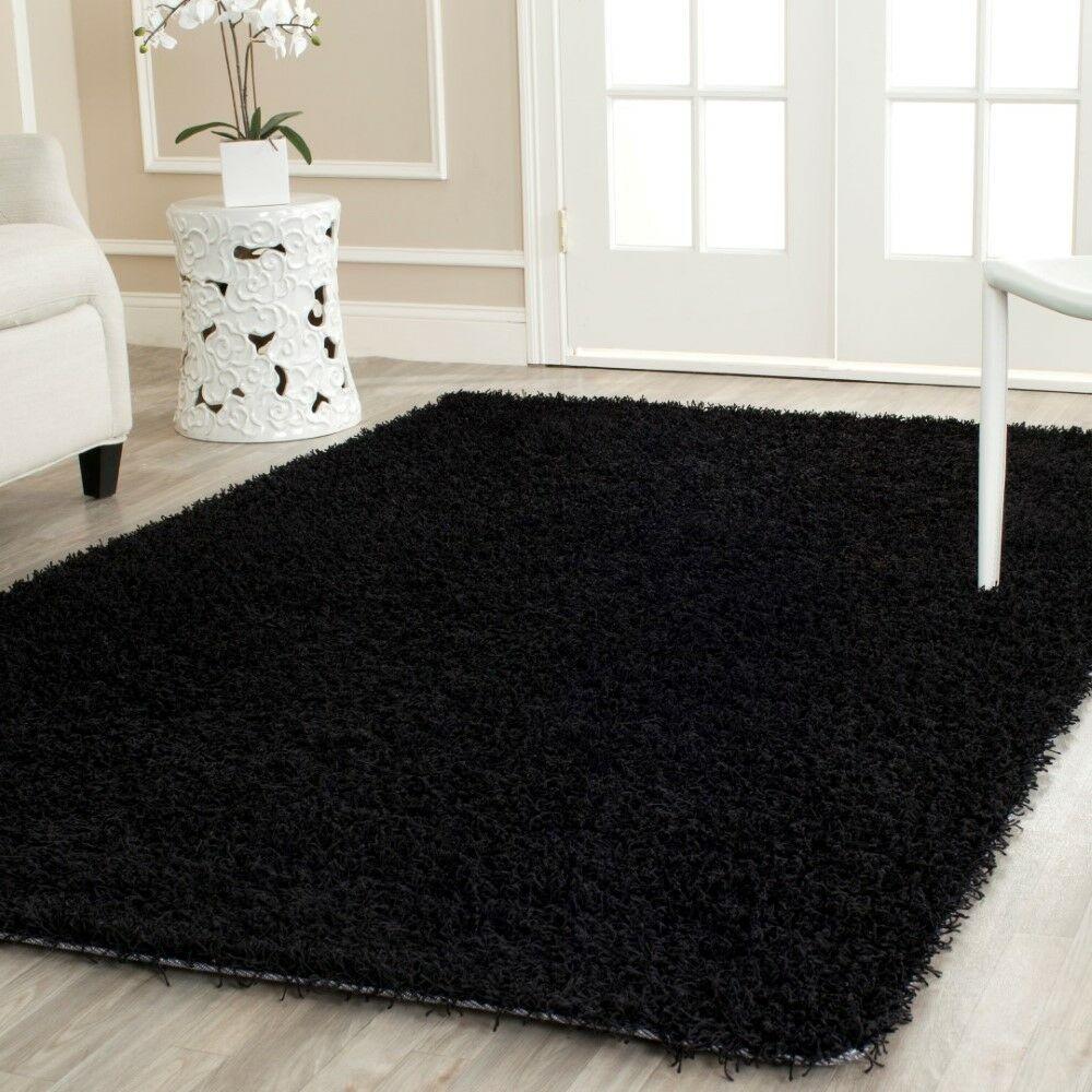 Starr Hill Black Area Rug Rug Size: Rectangle 2'6