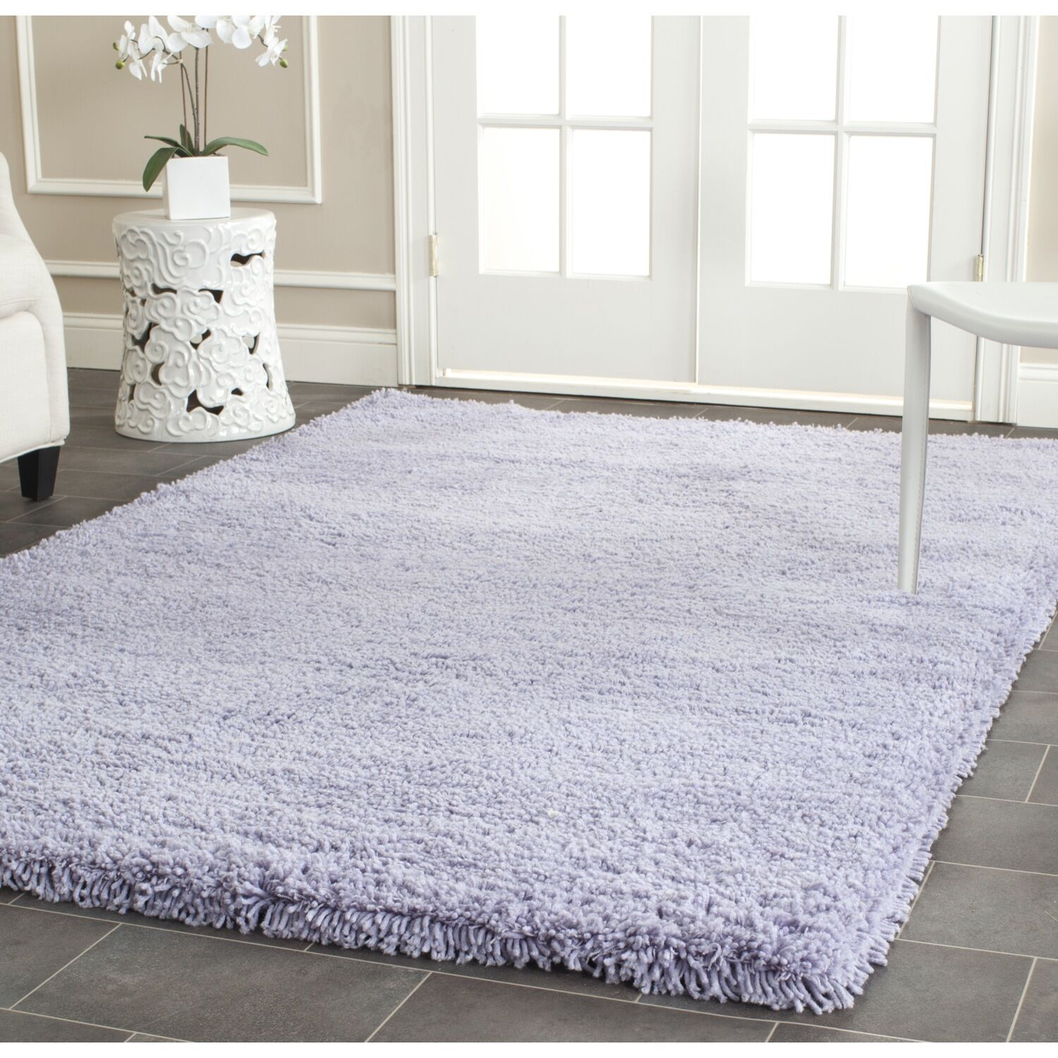 Starr Hill Hand-Woven Purple Area Rug Rug Size: Rectangle 4' x 6'