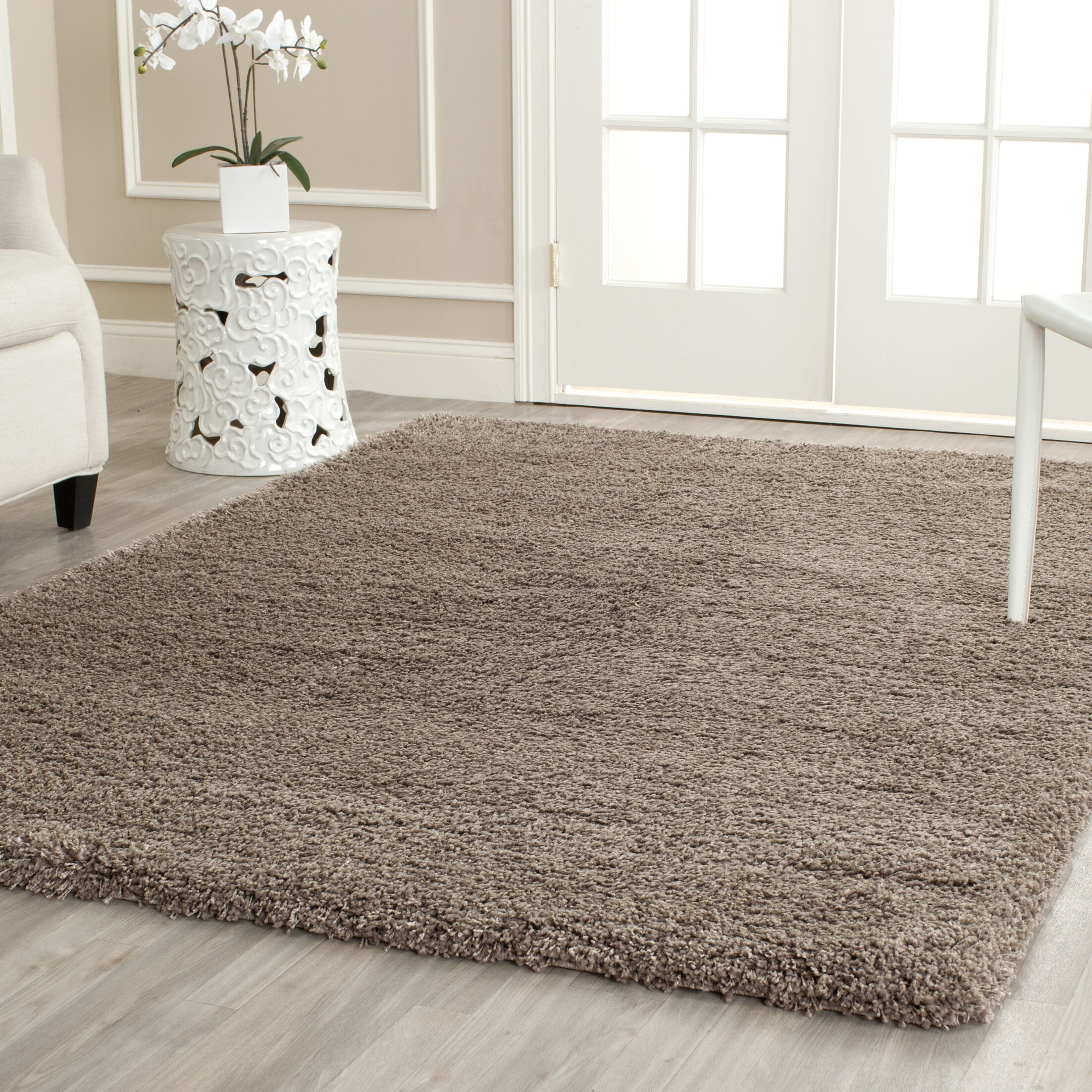 Boice Taupe Area Rug Rug Size: Rectangle 5'3