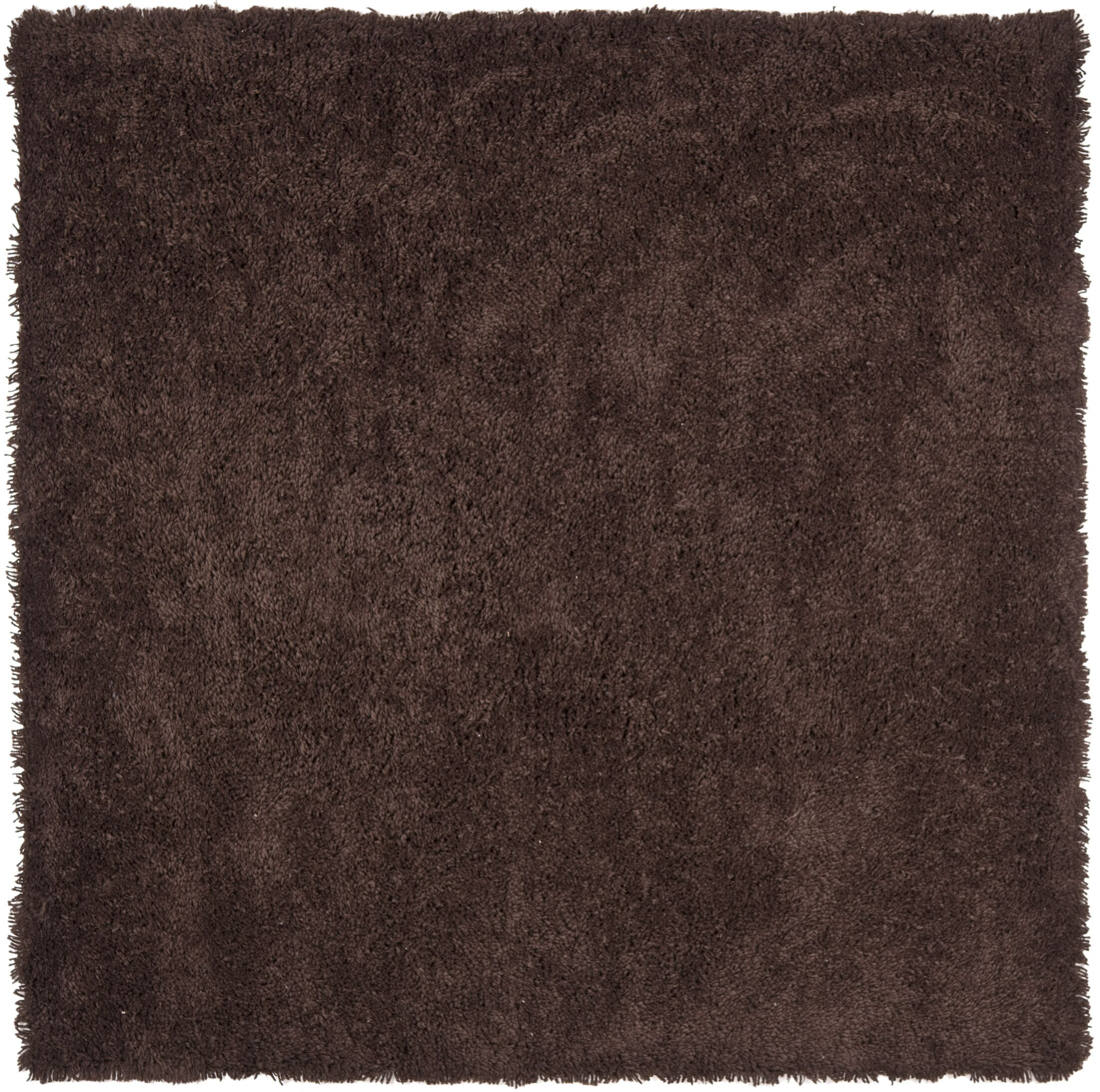 Starr Hill Modern Chocolate Area Rug Rug Size: Square 7'