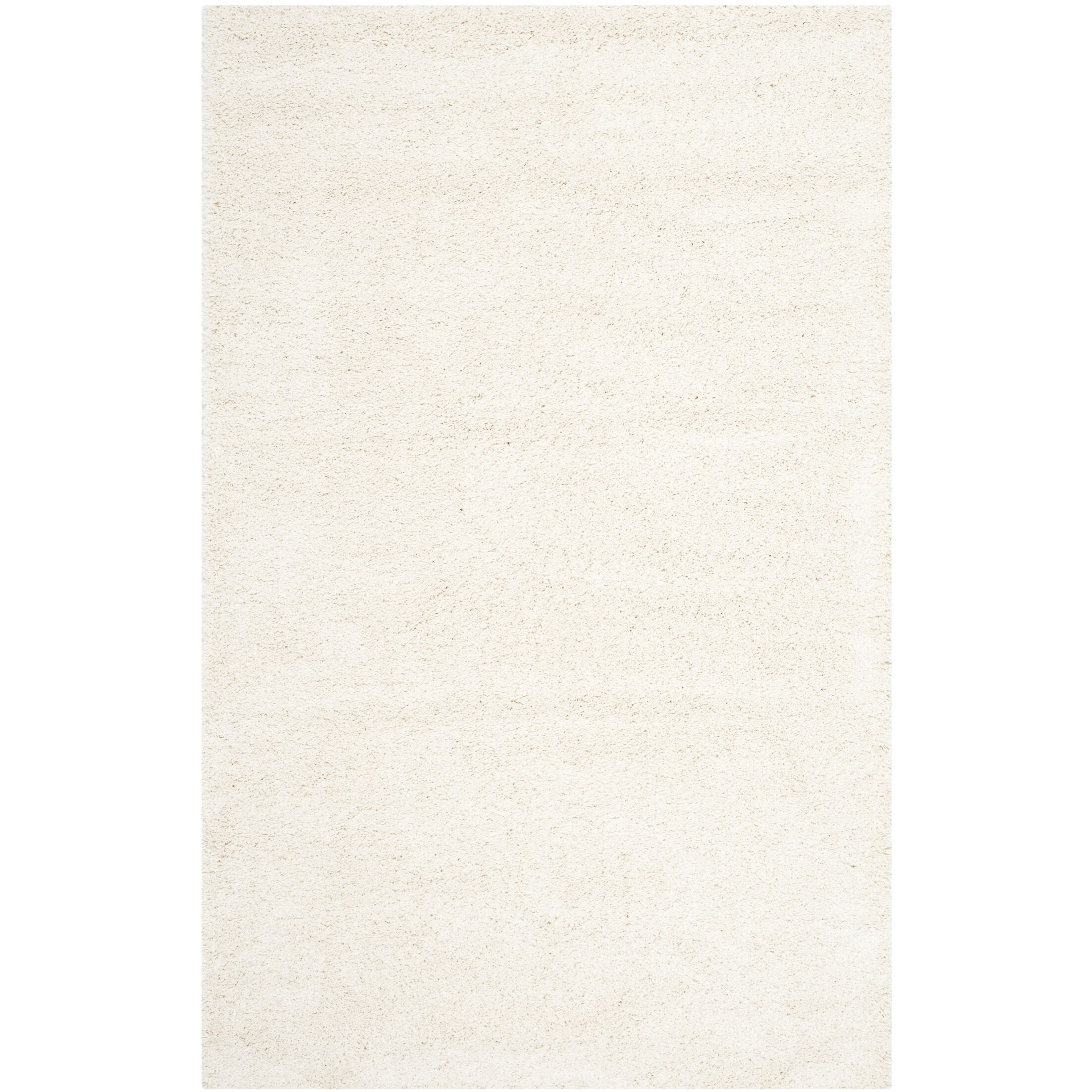 Starr Hill Solid Ivory Area Rug Rug Size: Rectangle 10' x 14'