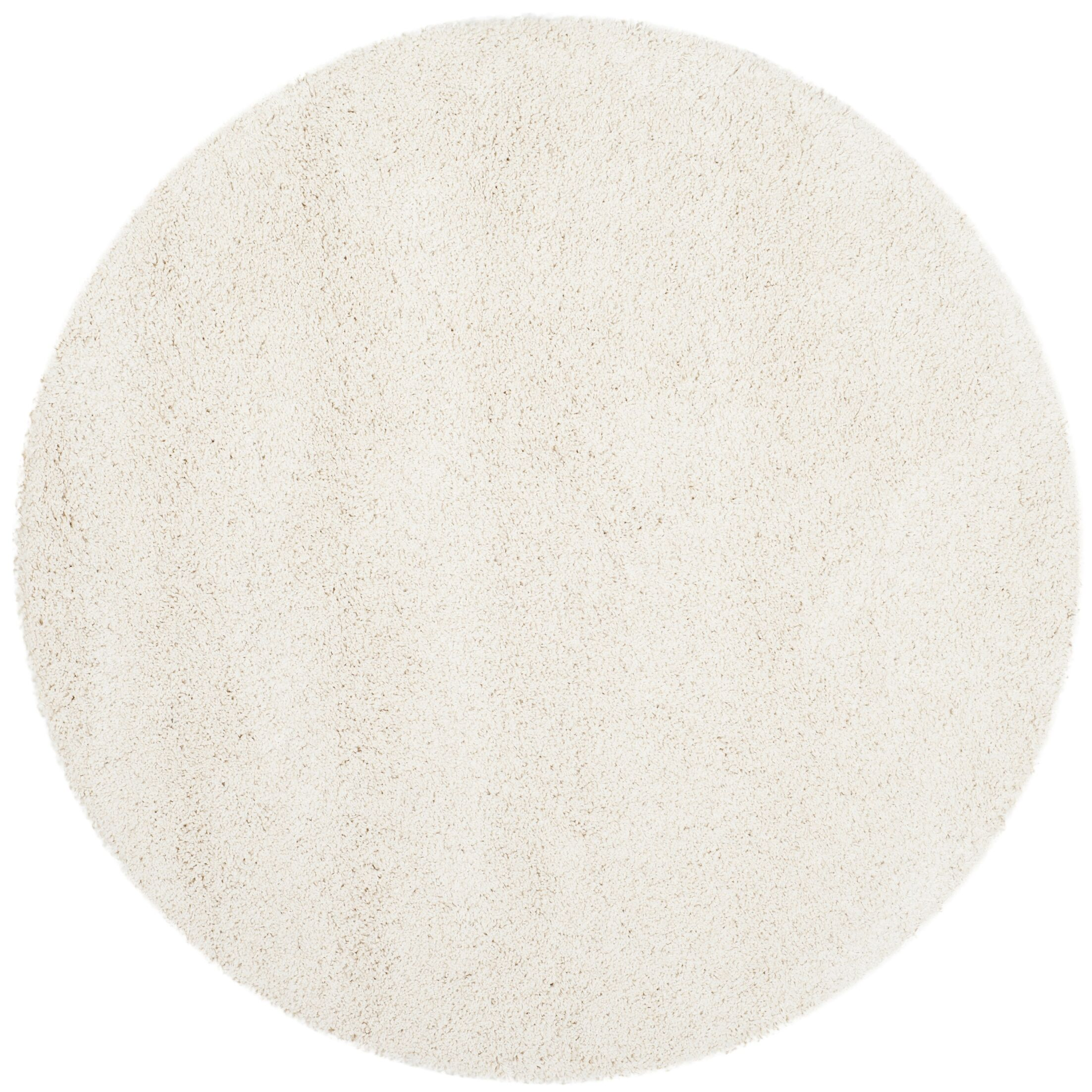 Starr Hill Solid Ivory Area Rug Rug Size: 10' X 10' Round