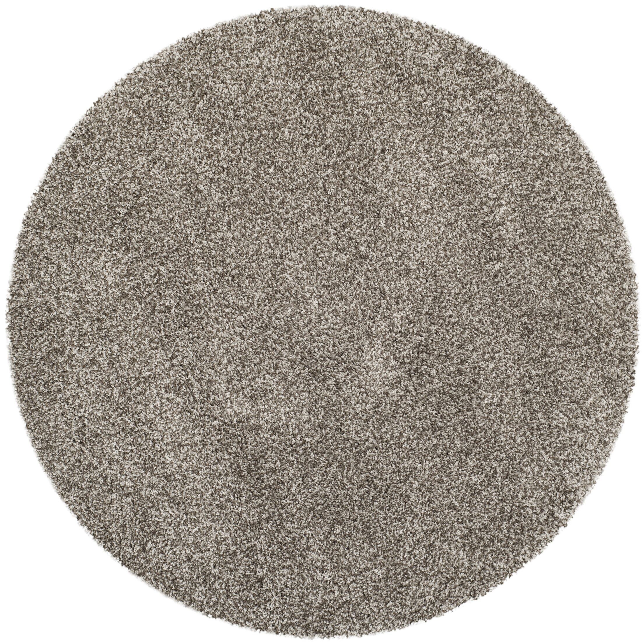Starr Hill Grey Area Rug Rug Size: Round 5'1