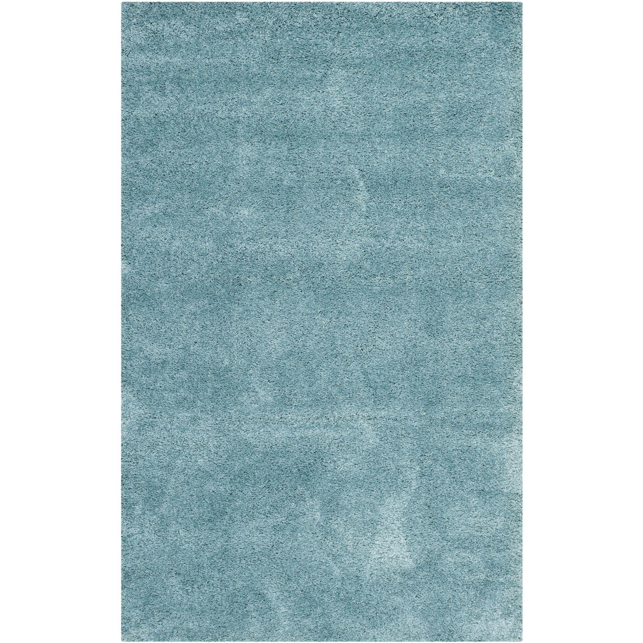 Starr Hill Aqua Blue Area Rug Rug Size: Rectangle 8' x 10'