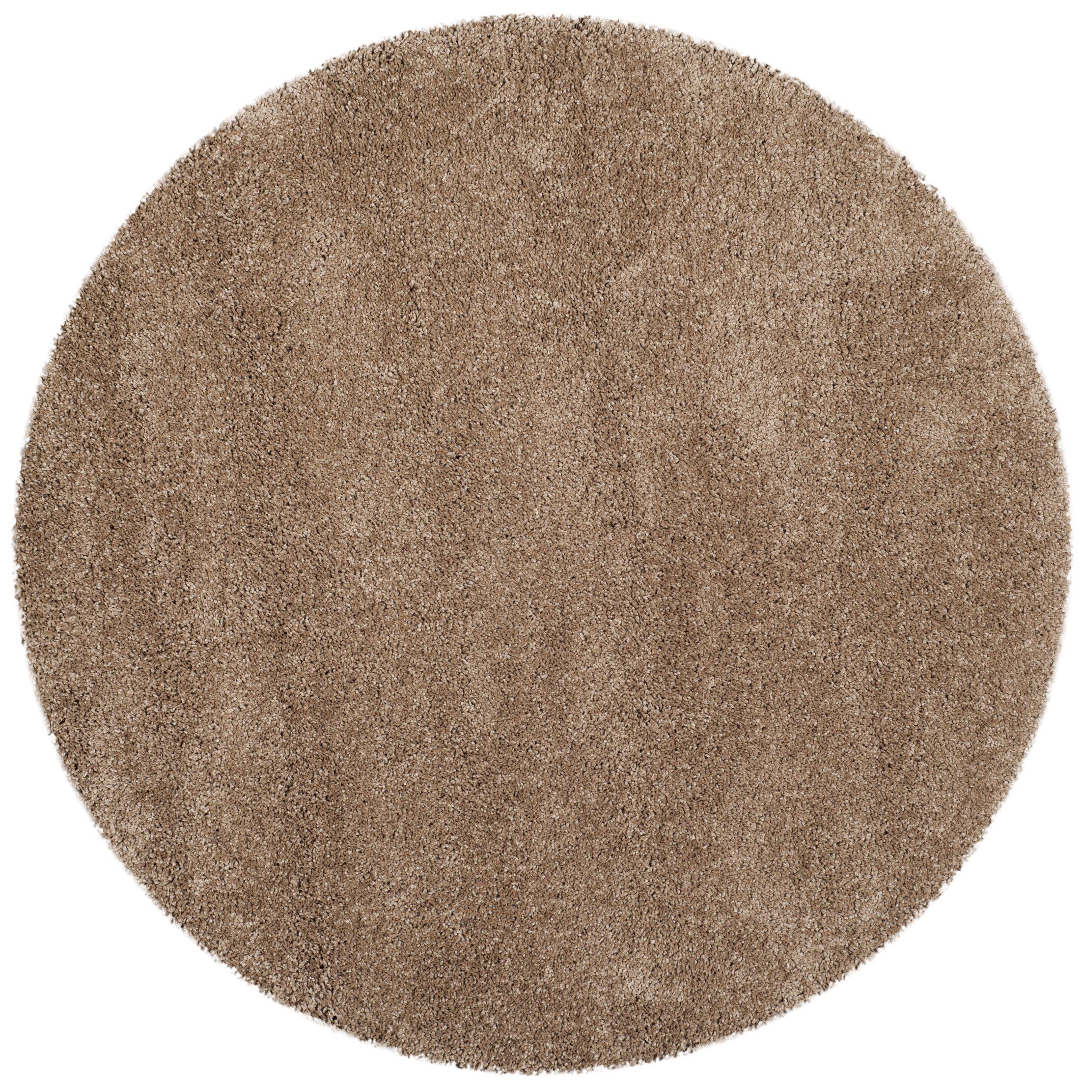 Starr Hill Dark Beige Area Rug Rug Size: 10' X 10' Round