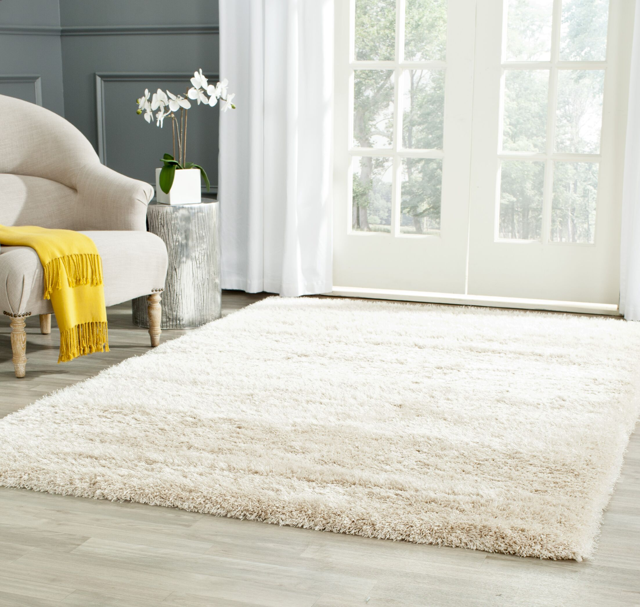 Starr Hill Rectangle Ivory Area Rug Rug Size: Rectangle 9' x 12'