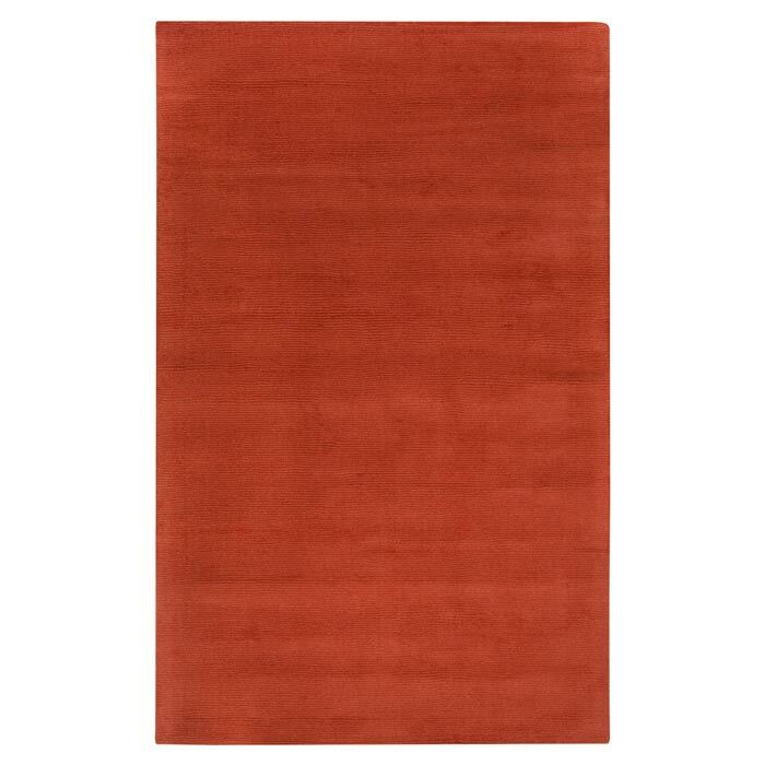 Villegas Hand Woven Wool Area Rug Rug Size: Rectangle 5' x 8'
