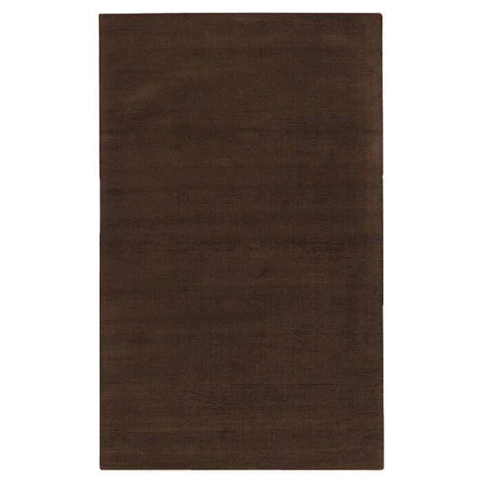 Villegas Dark Brown Area Rug Rug Size: Square 8'